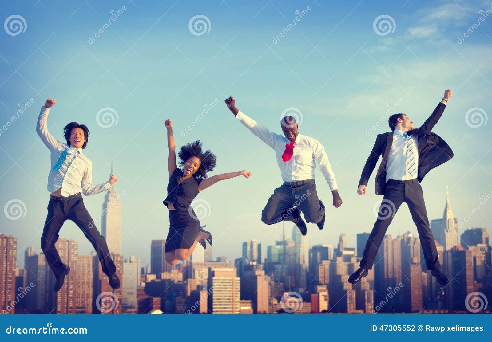 Успеха достижения бизнесмены концепции города