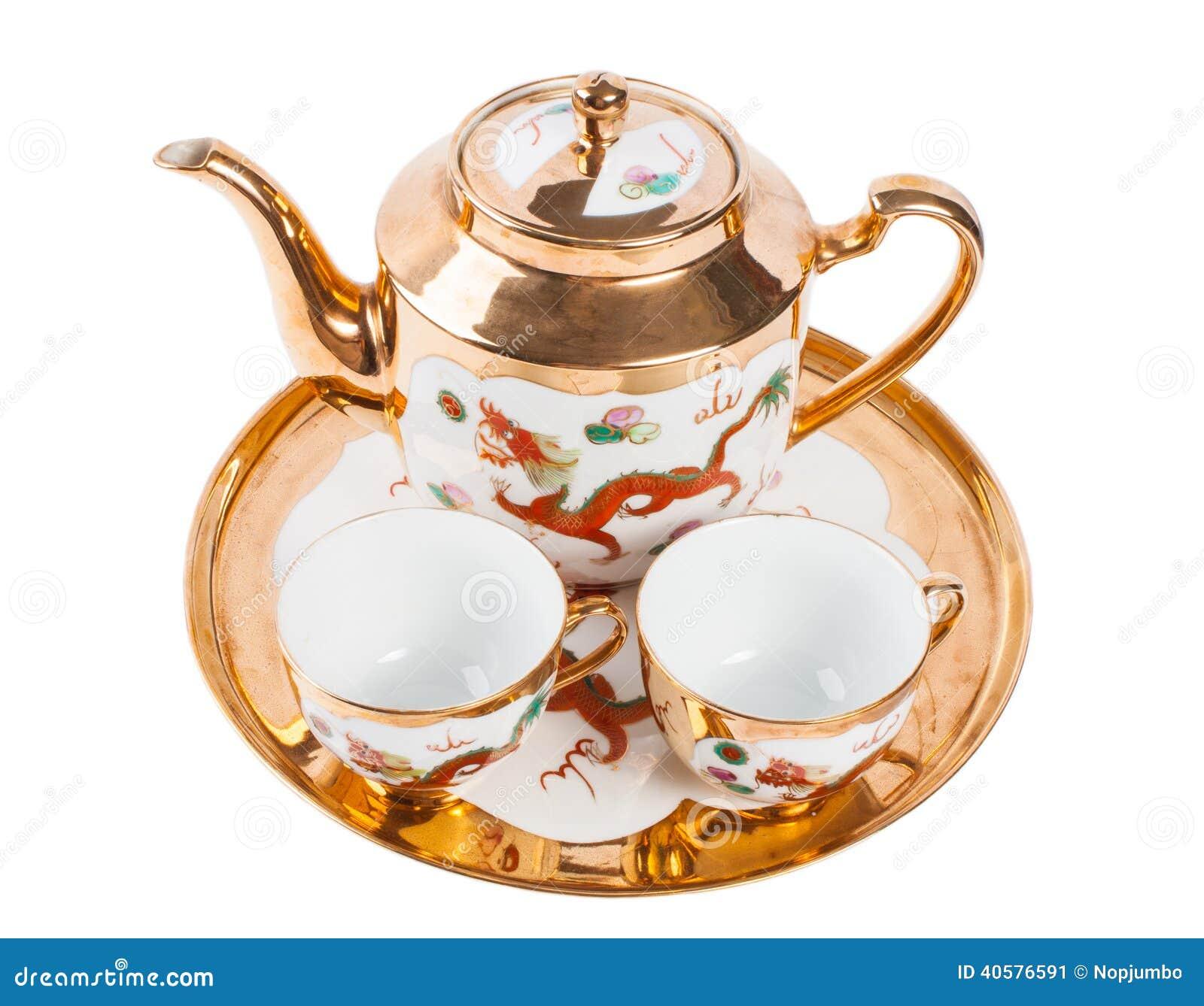 установите чай