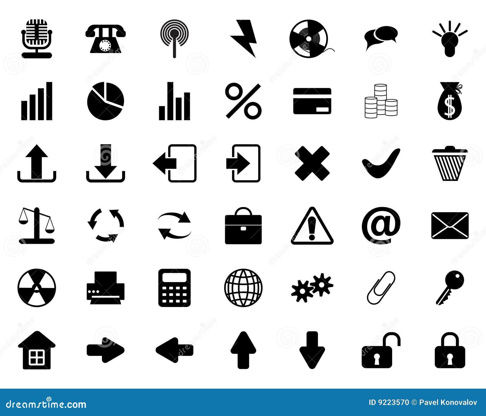 установленные иконы