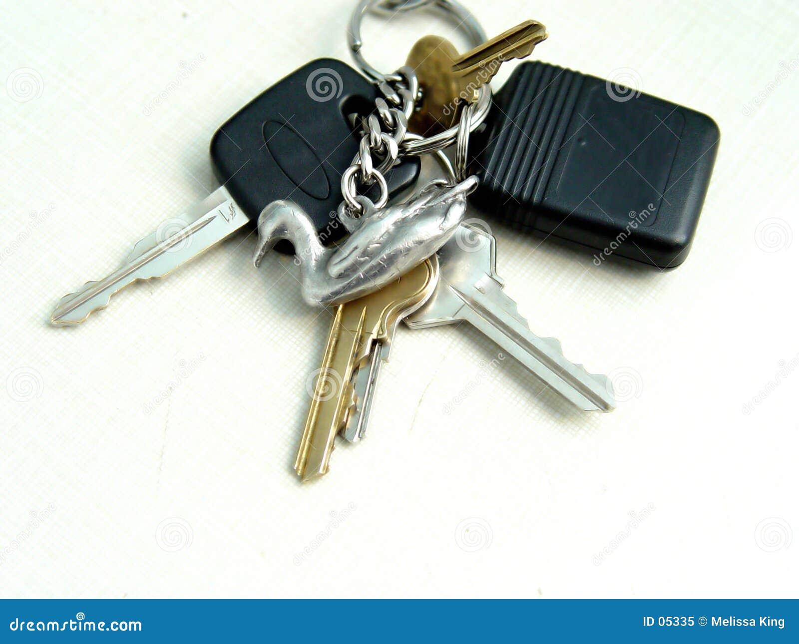 установленные ключи