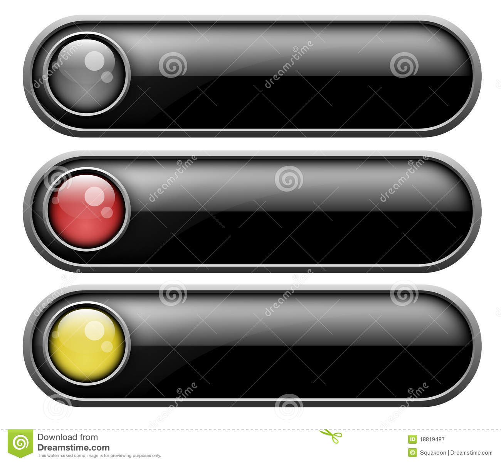 установленные кнопки
