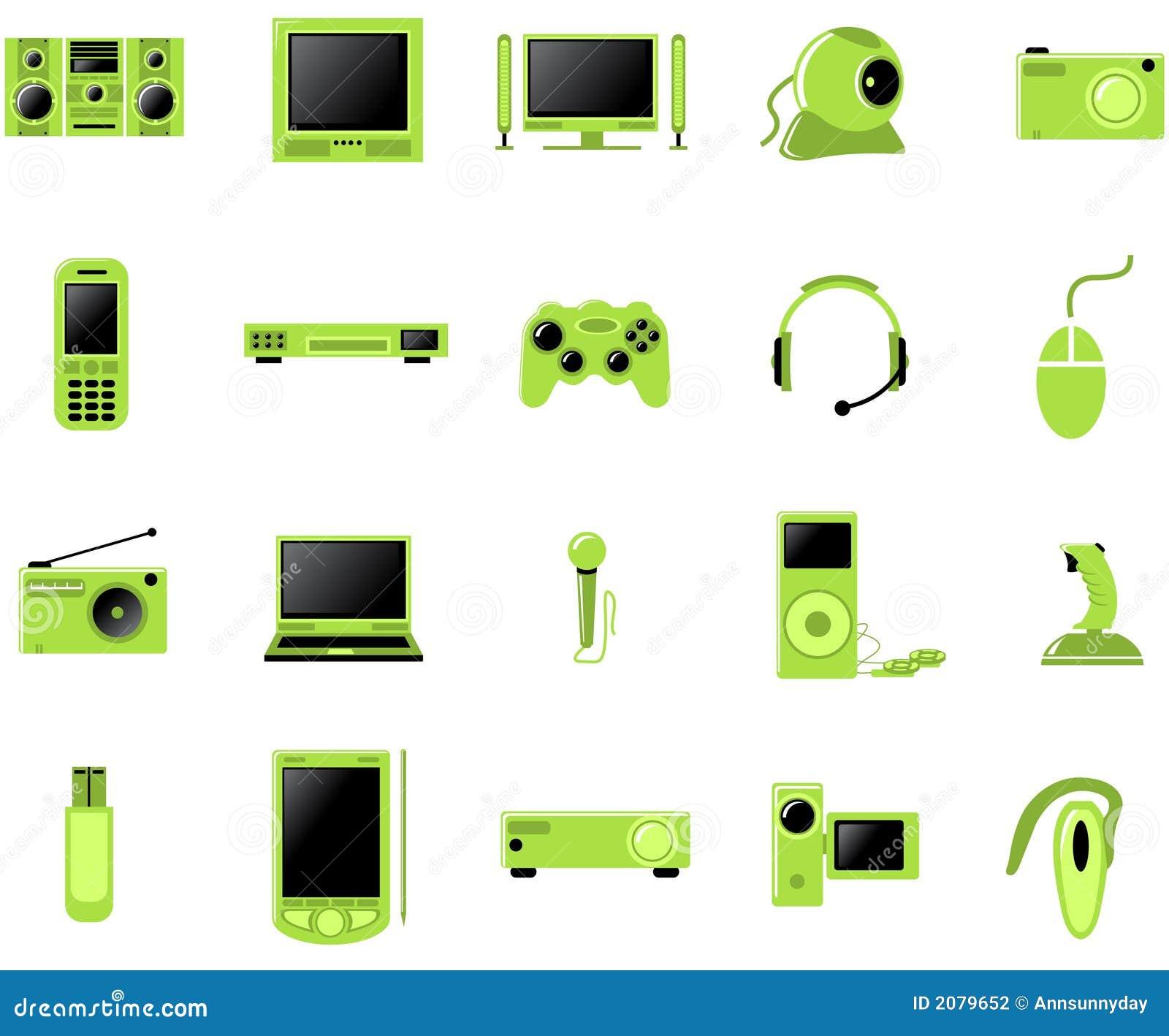 установленные мультимедиа иконы