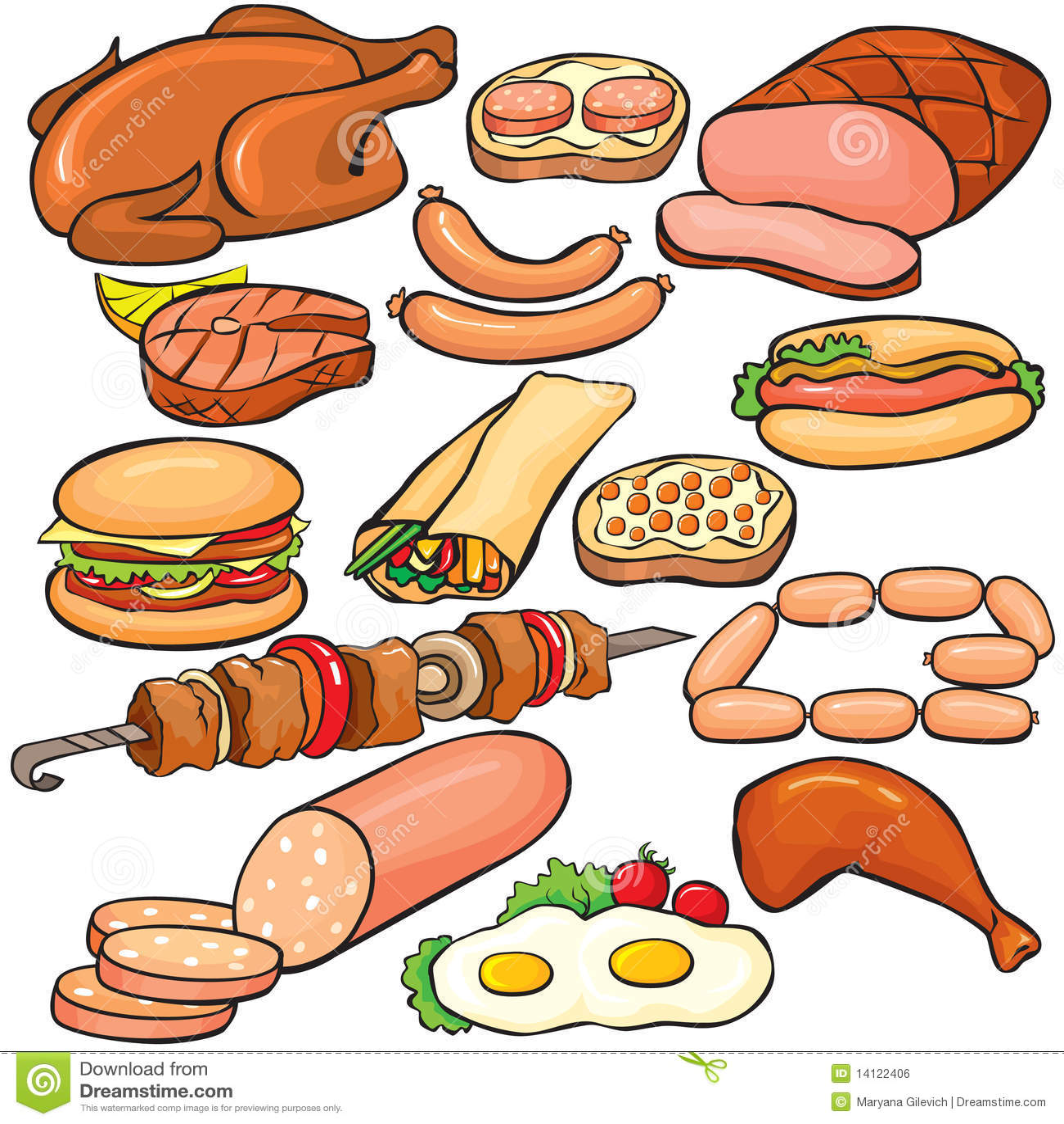 собрали картинки для расспечатки мяса и рыбы Статьи Выбор термобелья