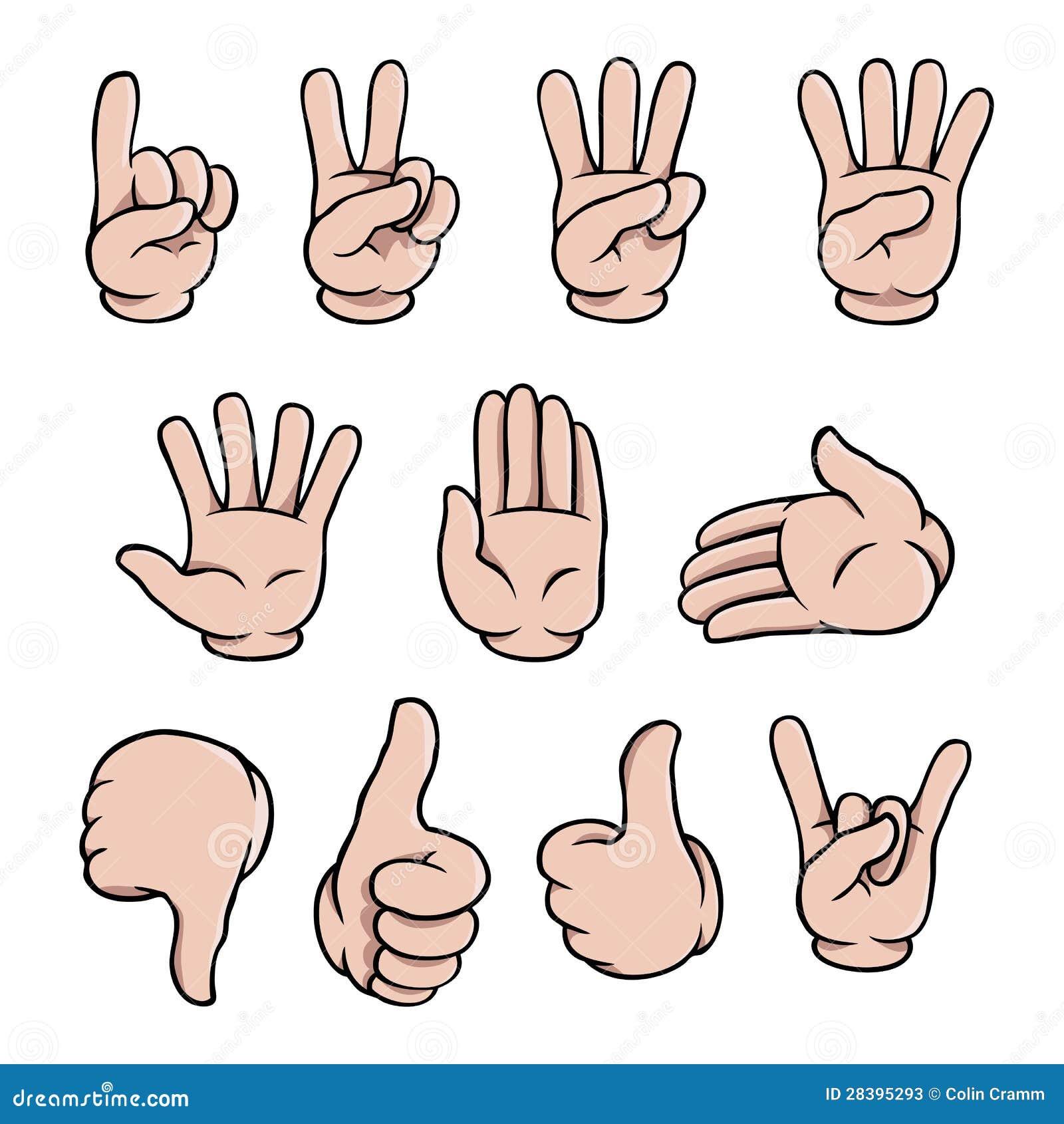 Рисуем жесты руками