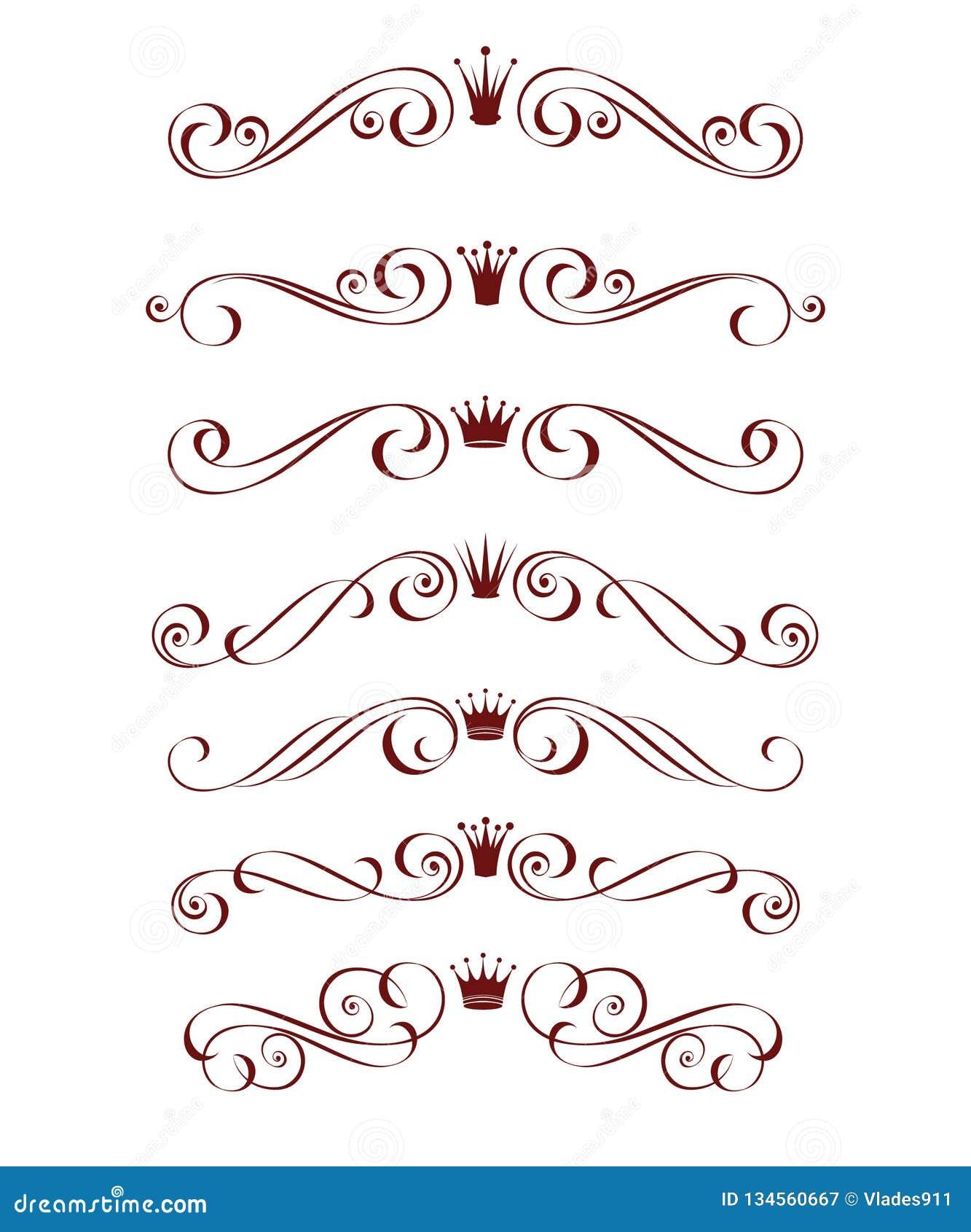 Установленный декоративный элемент с кроной brougham