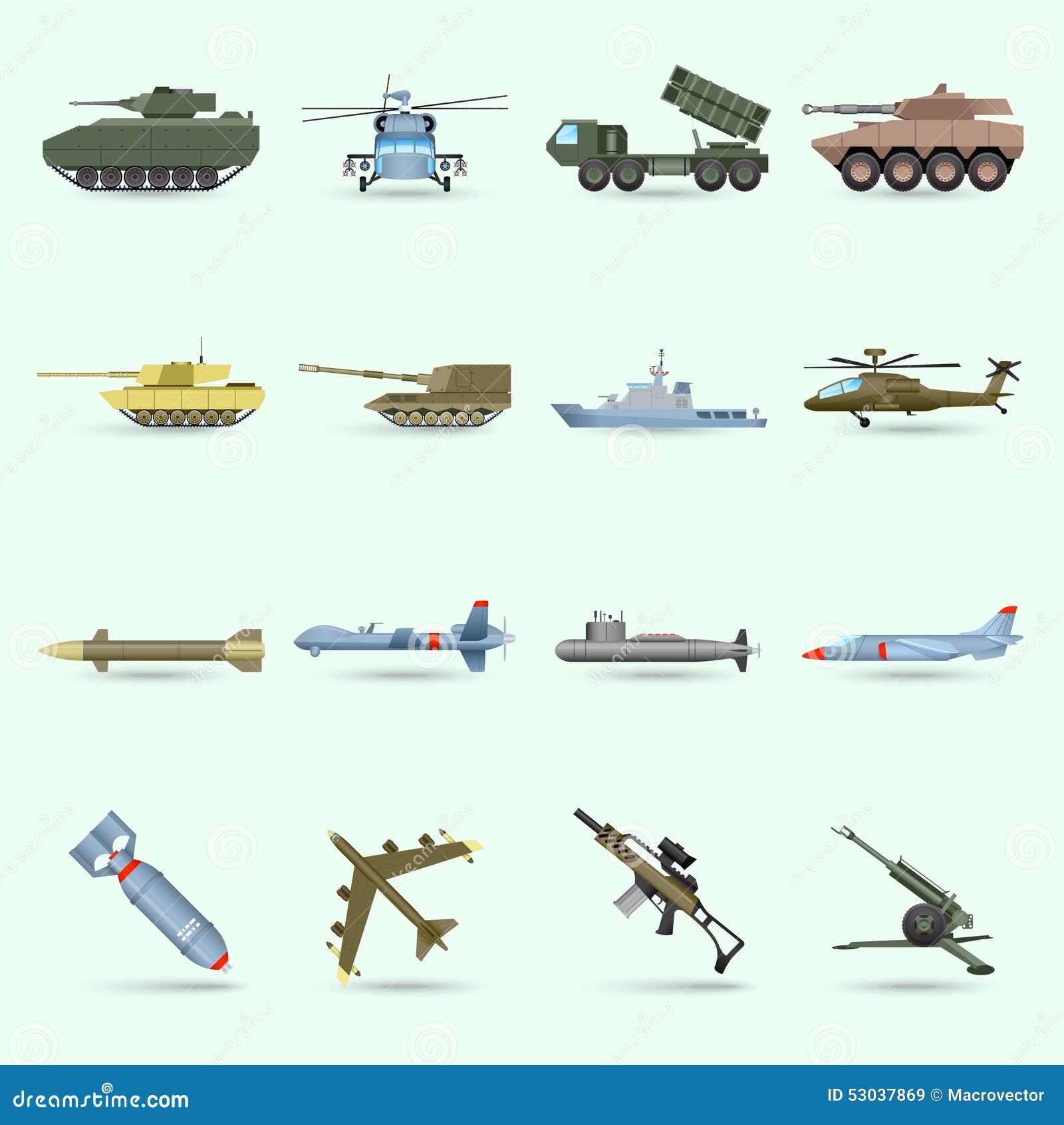 Установленные значки армии