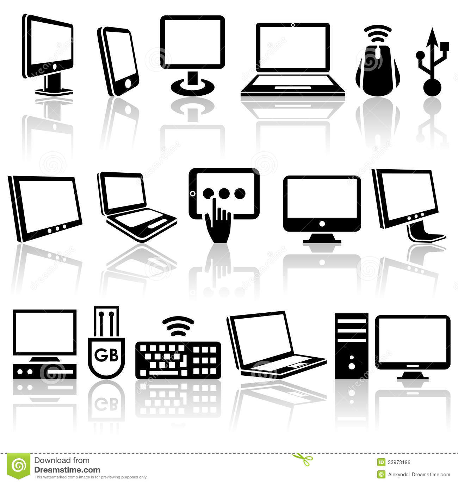 Значки на компьютере скачать бесплатно
