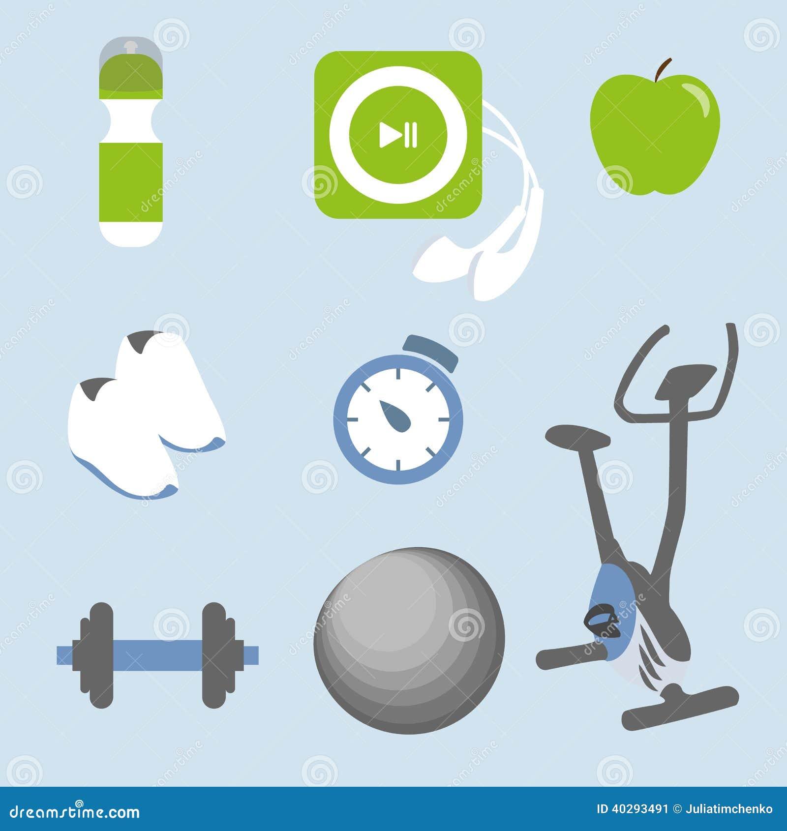 Установленные значки фитнеса