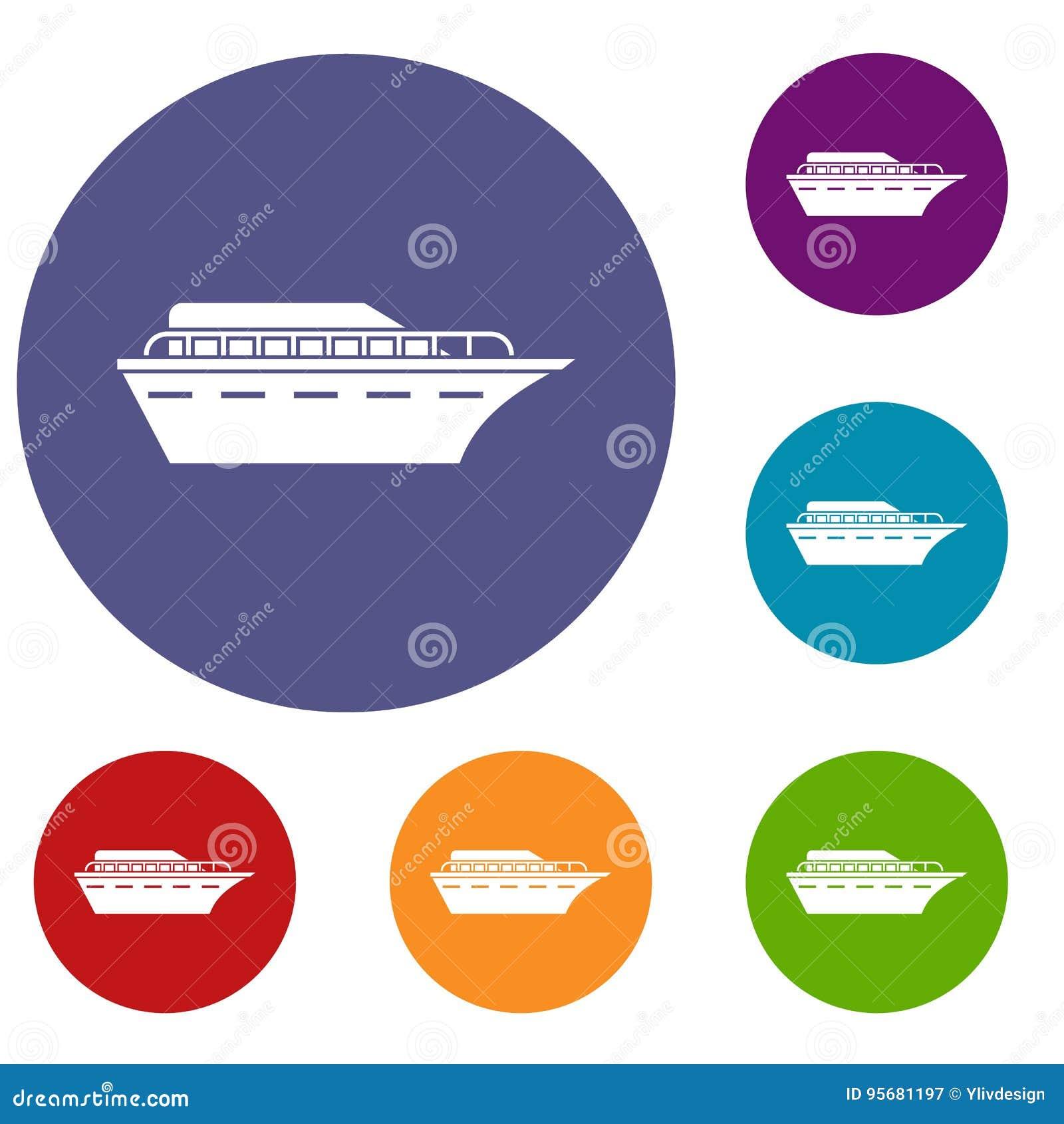 Установленные значки Powerboat