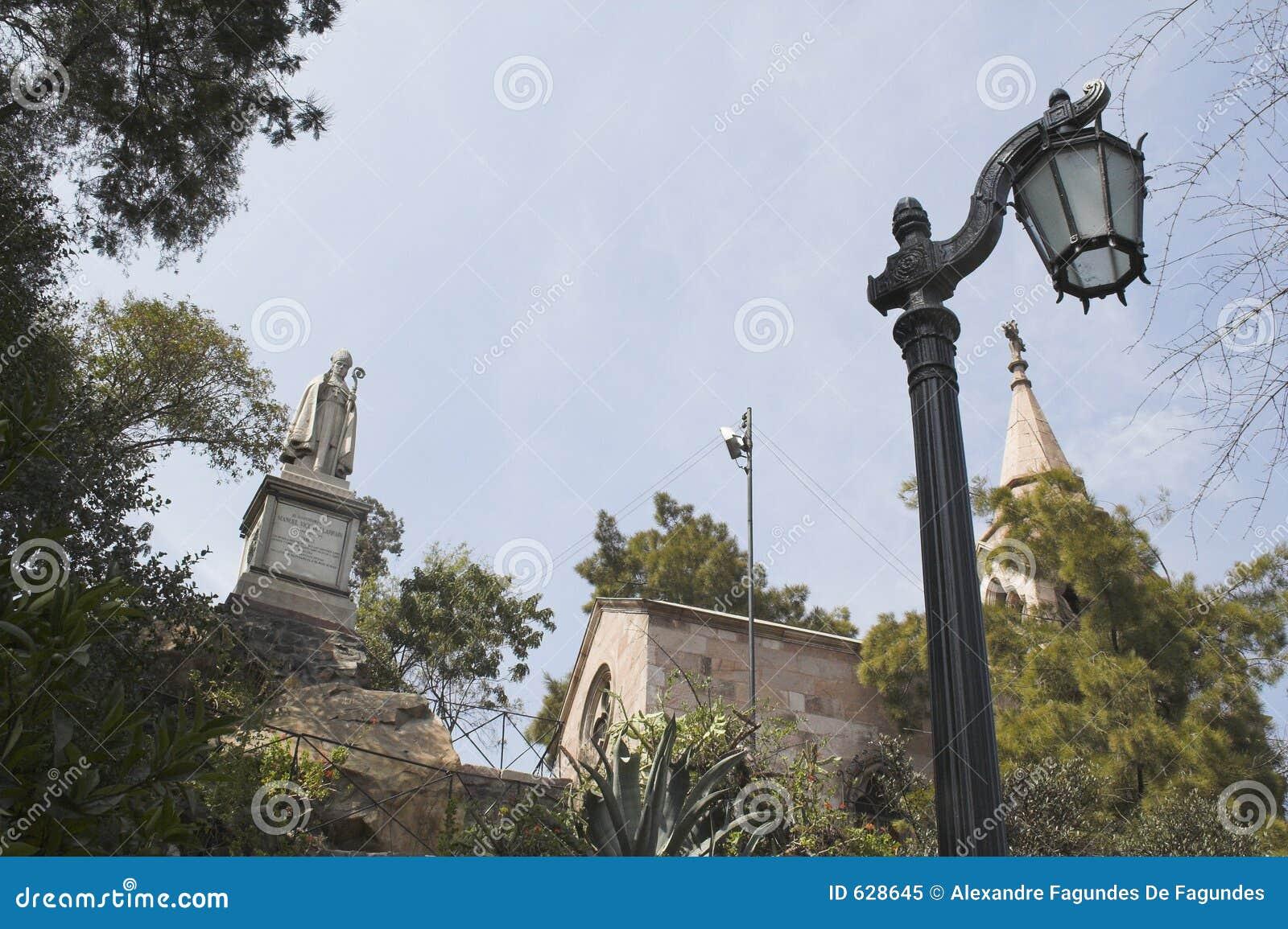 Download усыпальница Чили De Mackena Santiago Стоковое Изображение - изображение насчитывающей викунья, santa: 628645