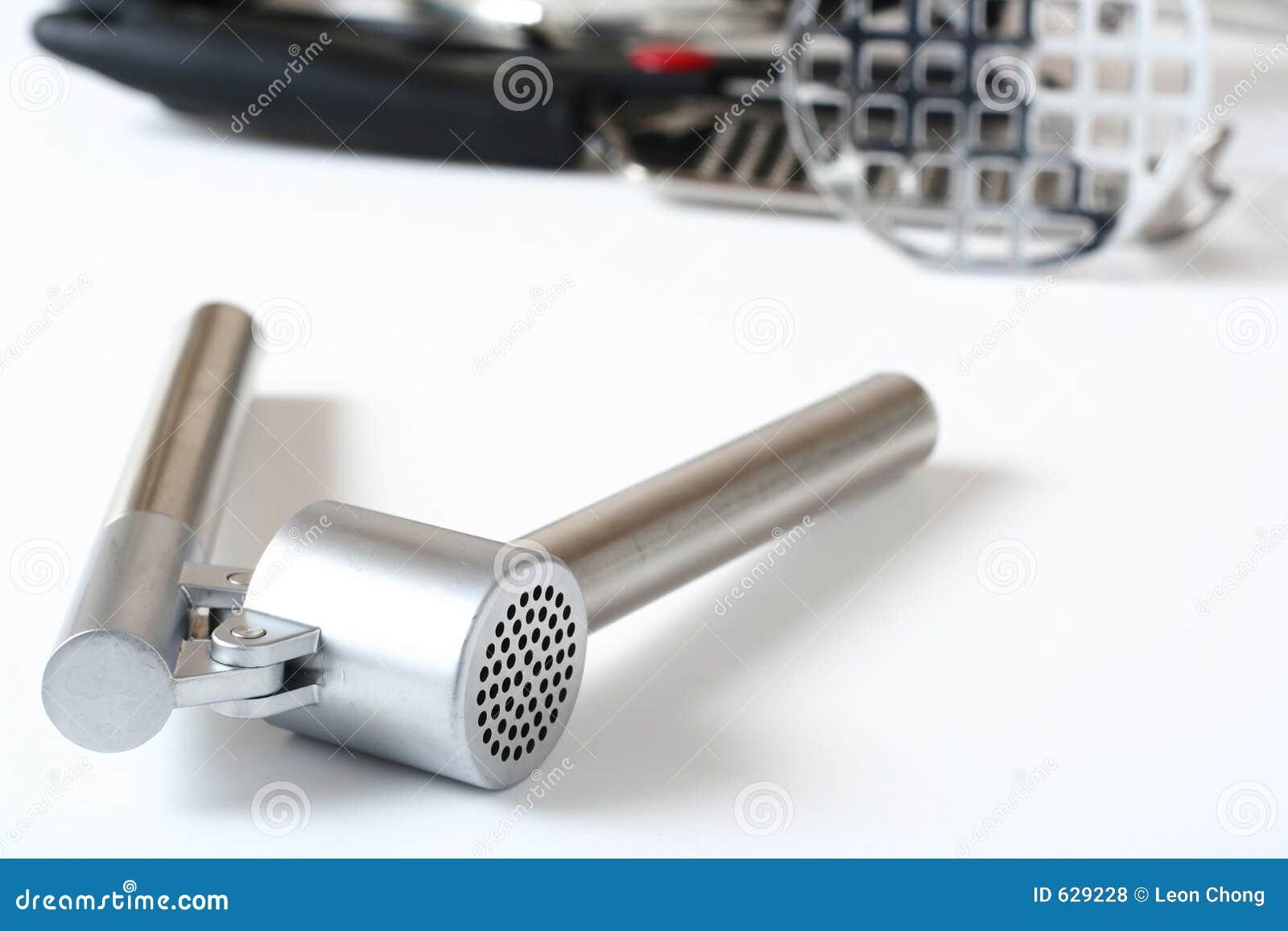 Download утвари Presser кухни чеснока Стоковое Фото - изображение насчитывающей smash, прибора: 629228
