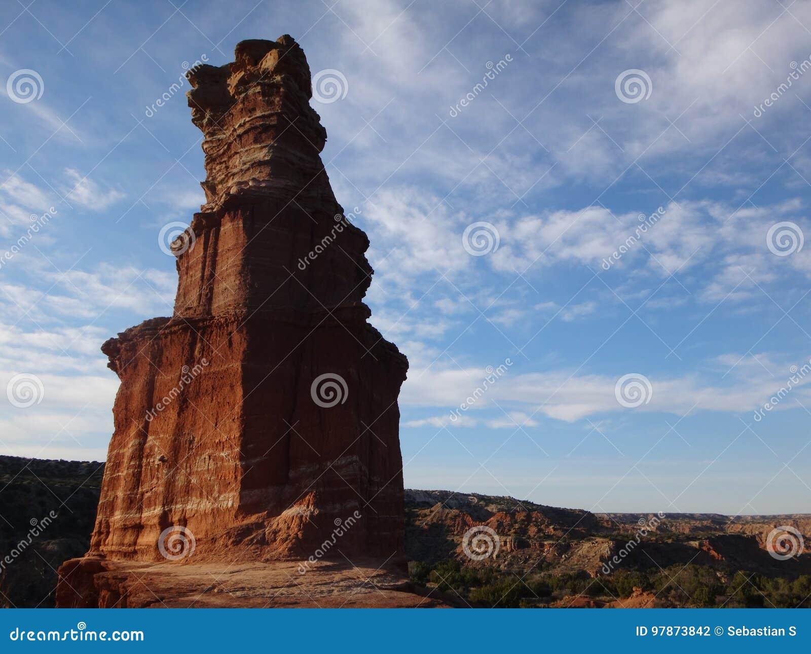 Утес маяка - каньон Duro Palo