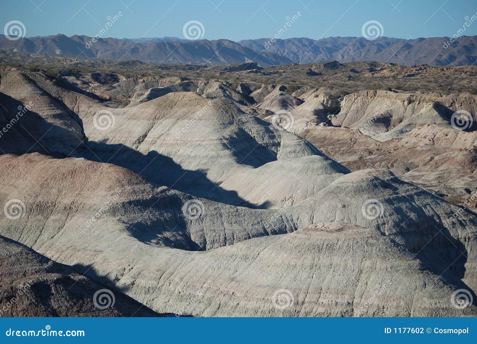 утес парка ischigualastonational образований геологохимический