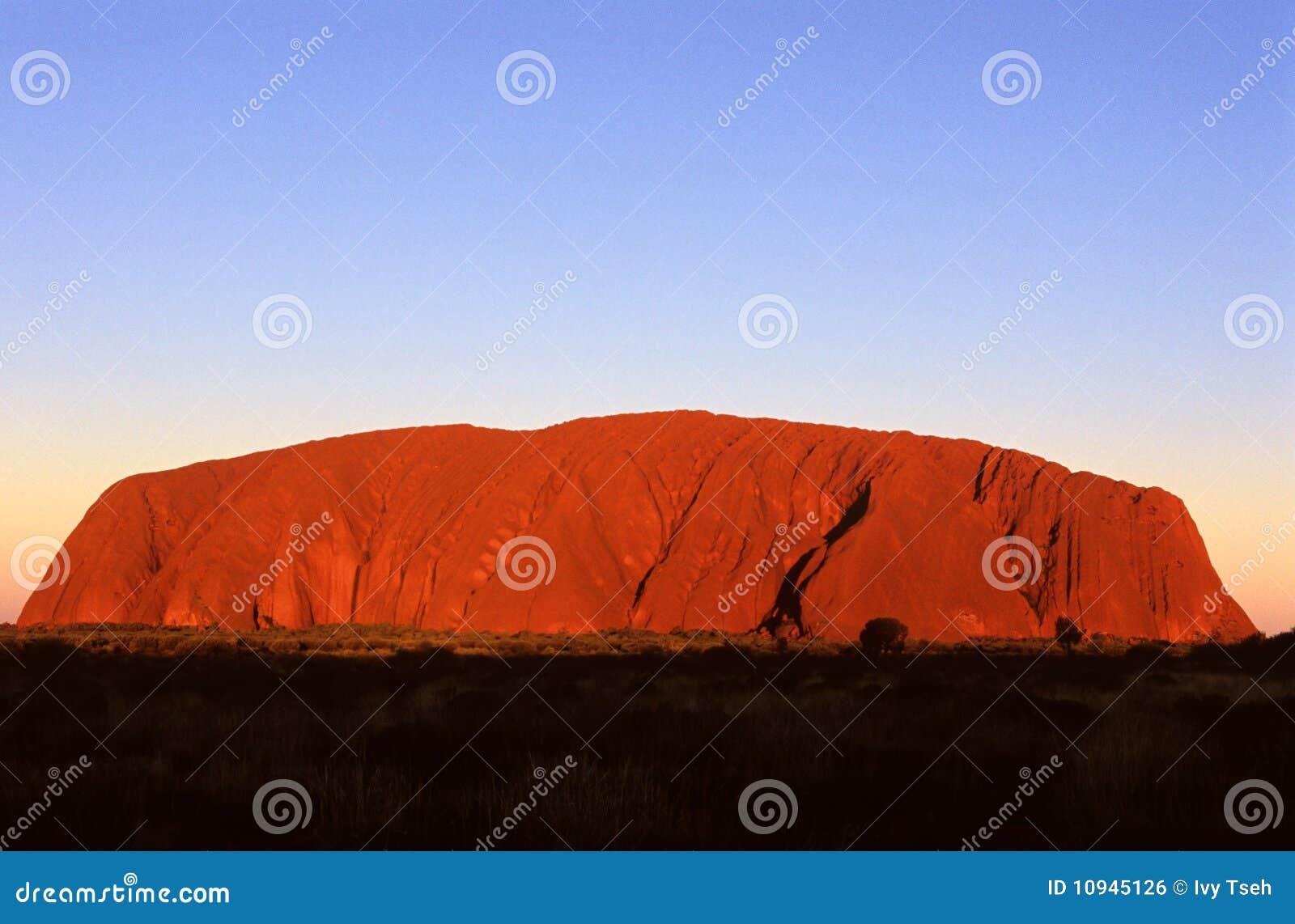 утес централи ayers Австралии