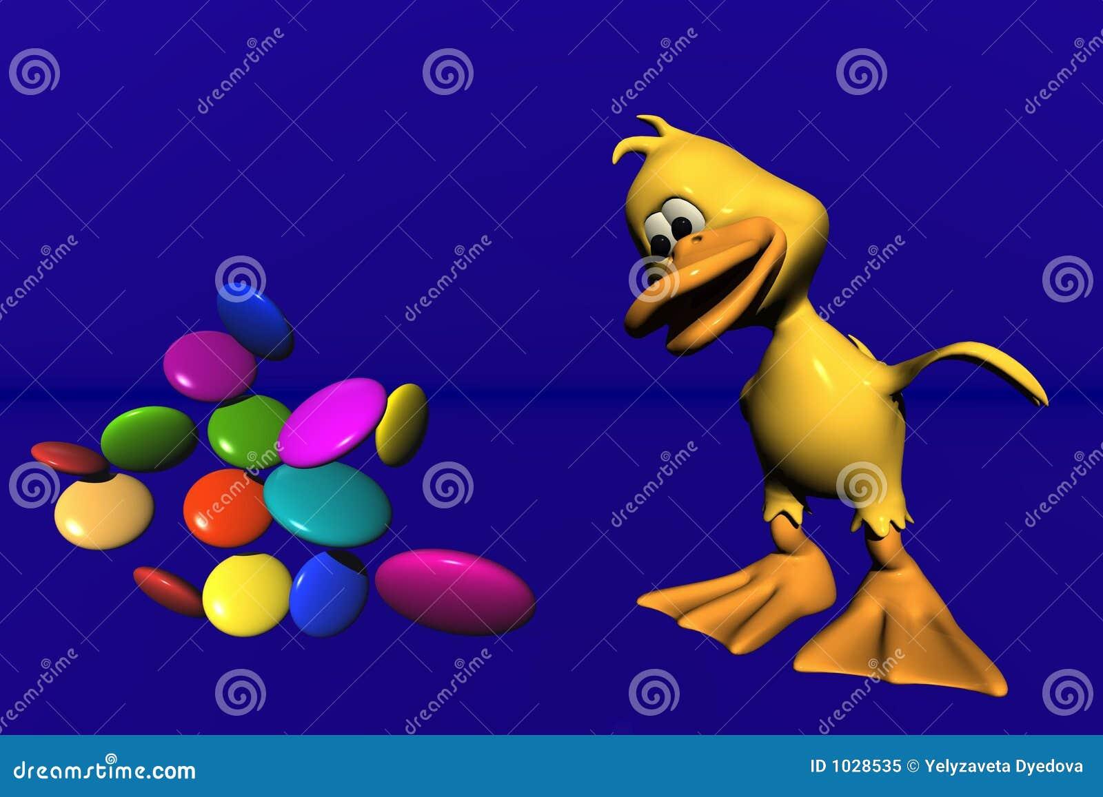 утка конфеты
