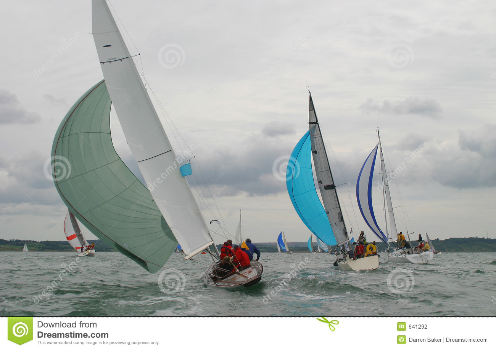 Download участвовать в гонке дня бурный Стоковое Фото - изображение насчитывающей веревочка, coastline: 641292