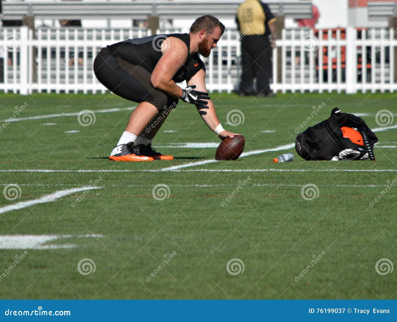 Учебный лагерь Кори Tucker 2016 Cleveland Browns