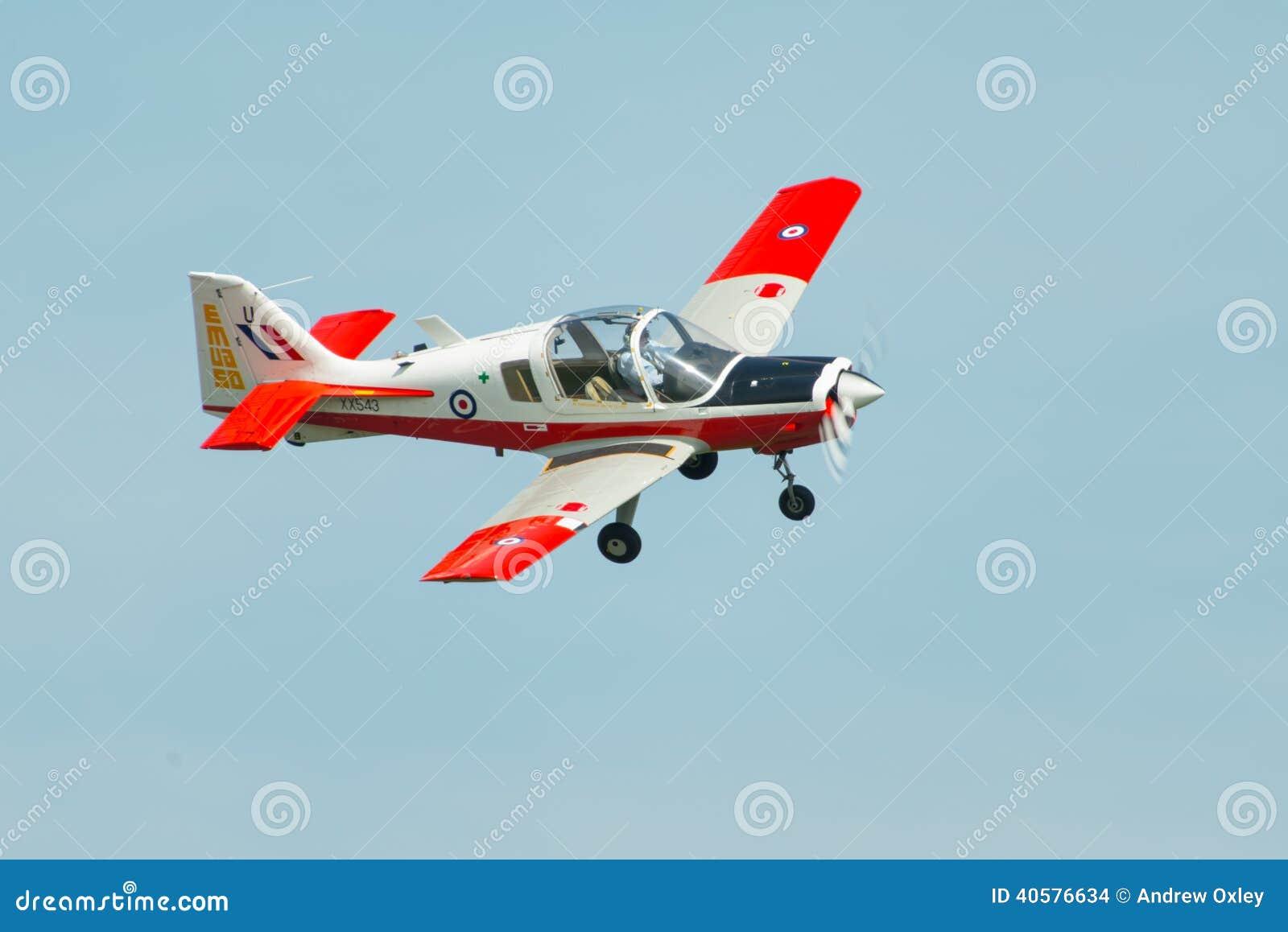 Учебный самолет бульдога Бристоля