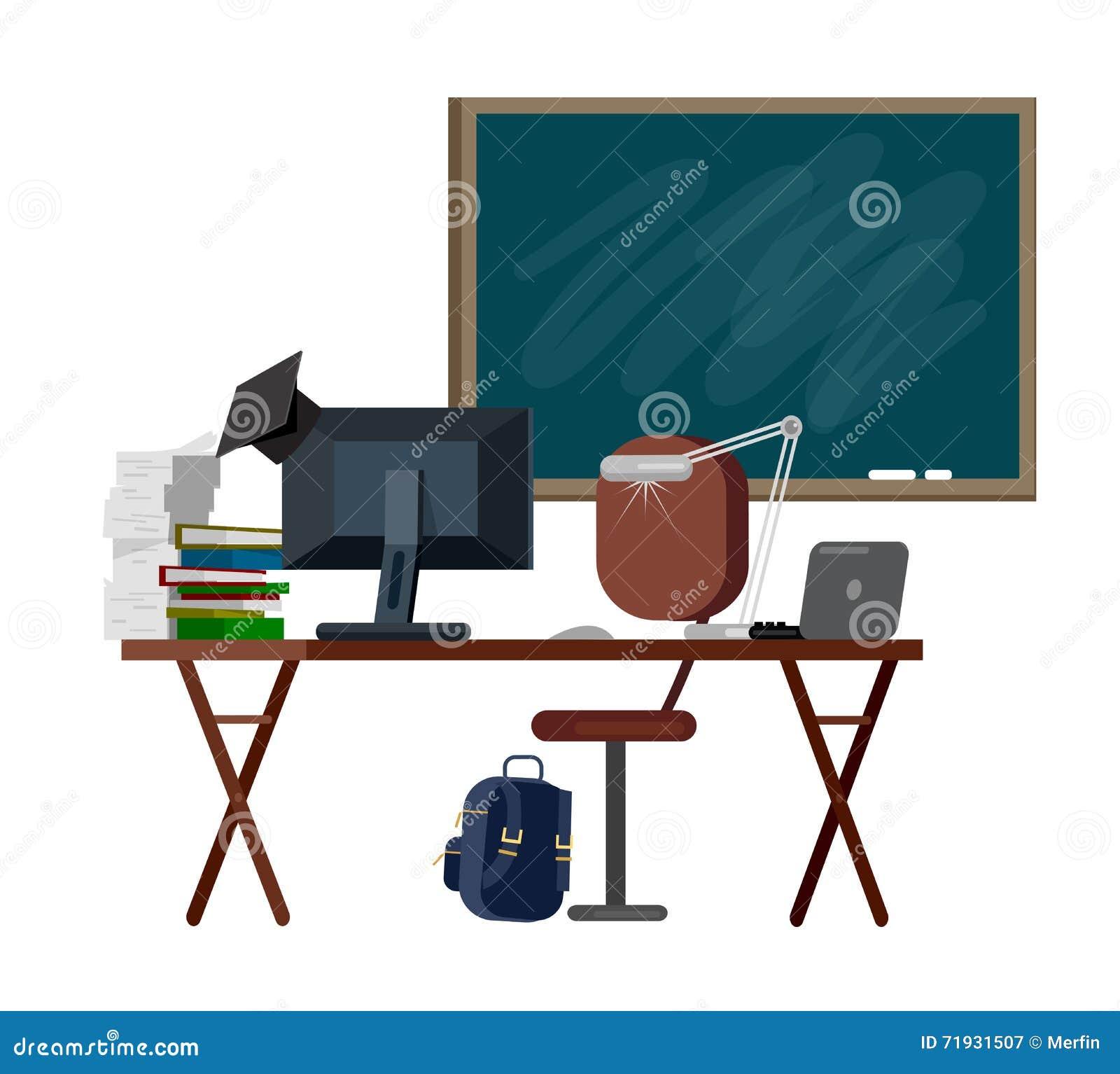 Учитель женщины характера вектора детальный