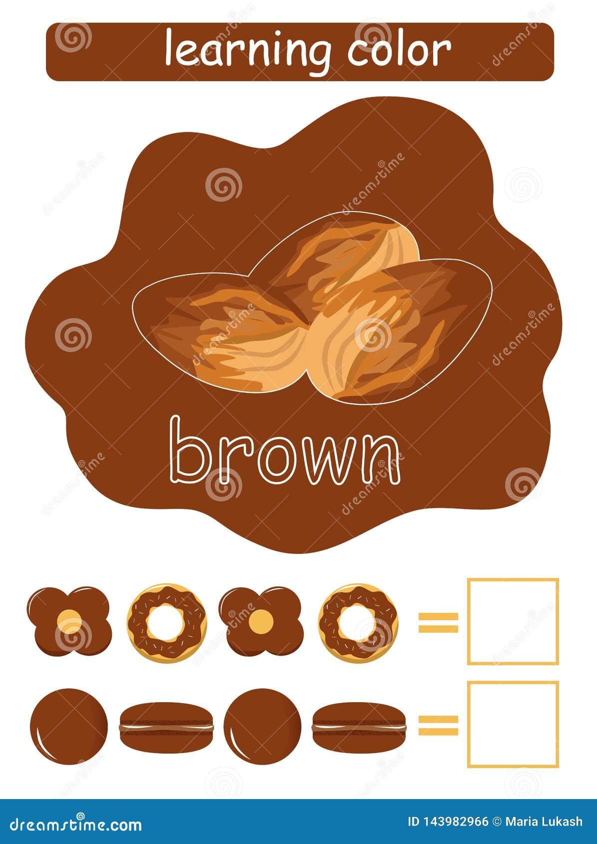 Учить цвет brougham Воспитательная игра для детей Имя цвета whit проводника цвета