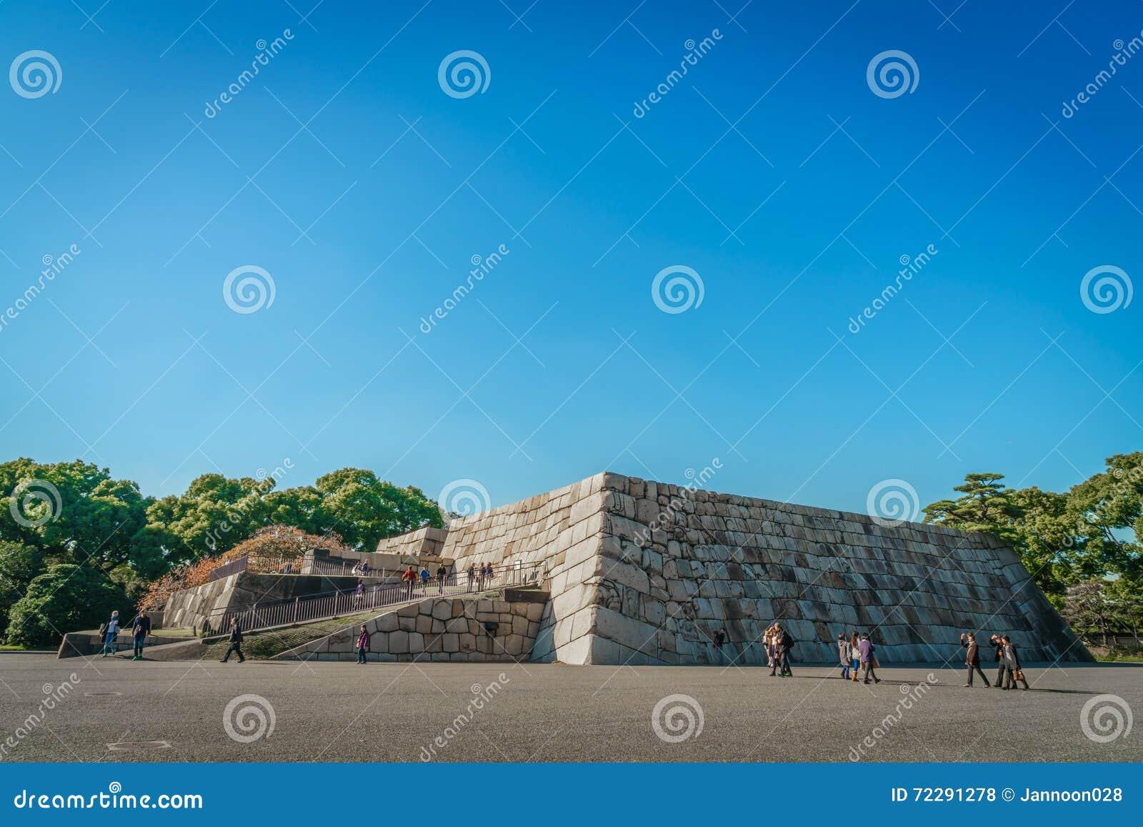Download Учреждение башни замка замка Эдо-Джо, Японии Редакционное Стоковое Фото - изображение насчитывающей moat, строя: 72291278