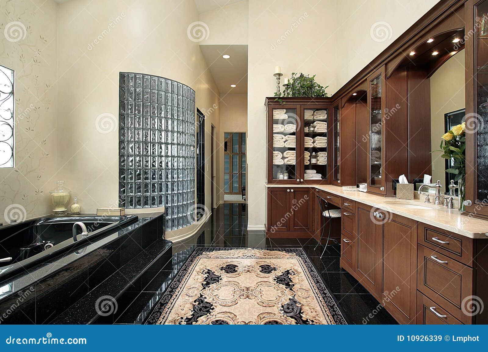 ушат ванны черный мастерский