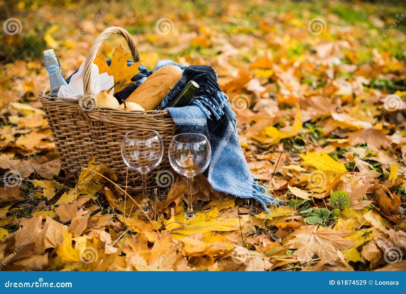 Пикник осень картинки