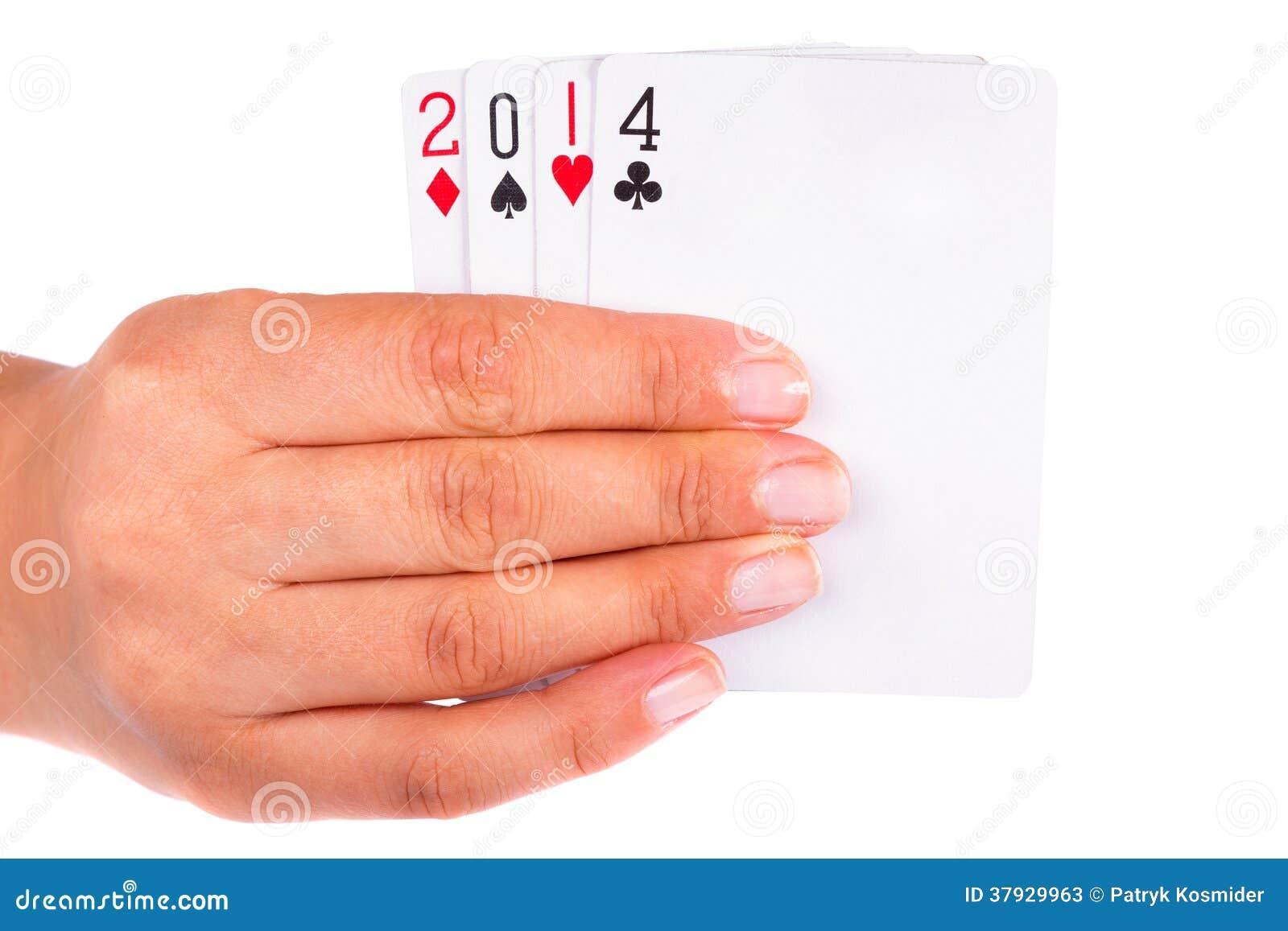 Удачливый год 2014 в карточках