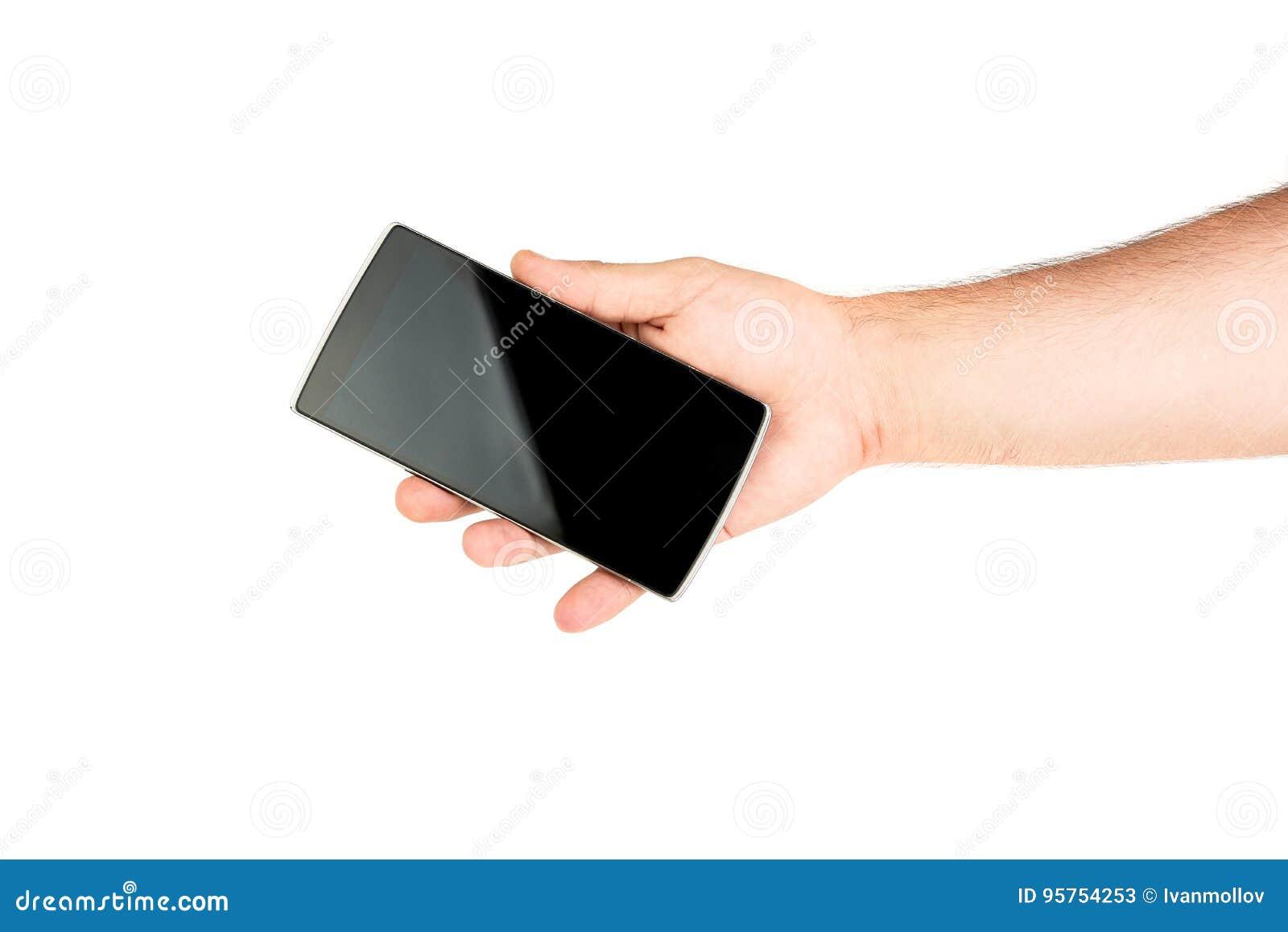 удерживание руки банка предпосылки замечает smartphone