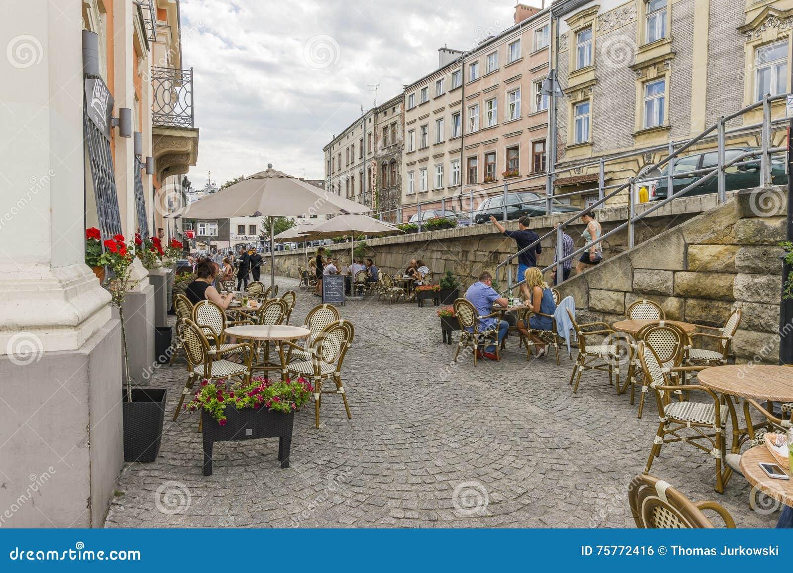Улица в Кракове