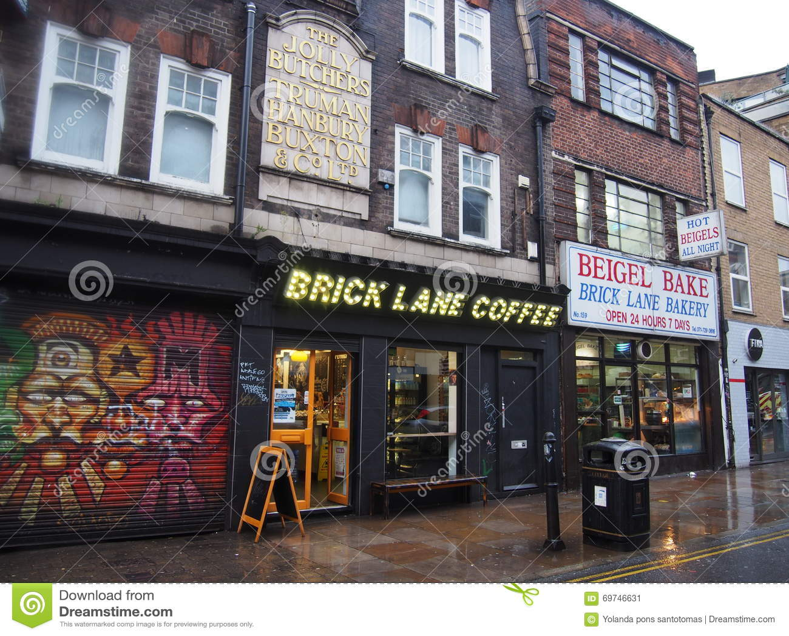 Улица майны кирпича, Лондон