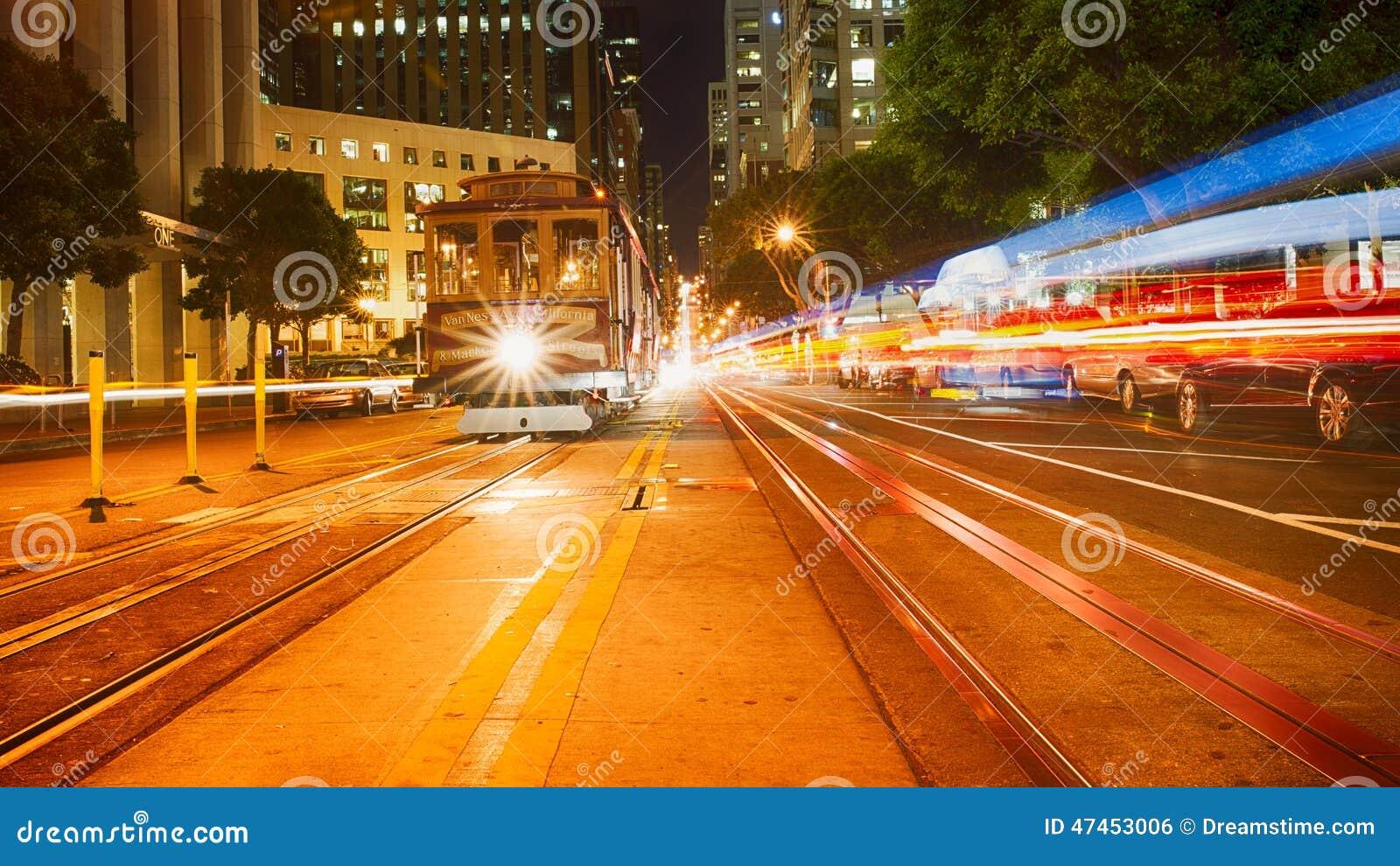 Улица Сан-Франциско Калифорнии