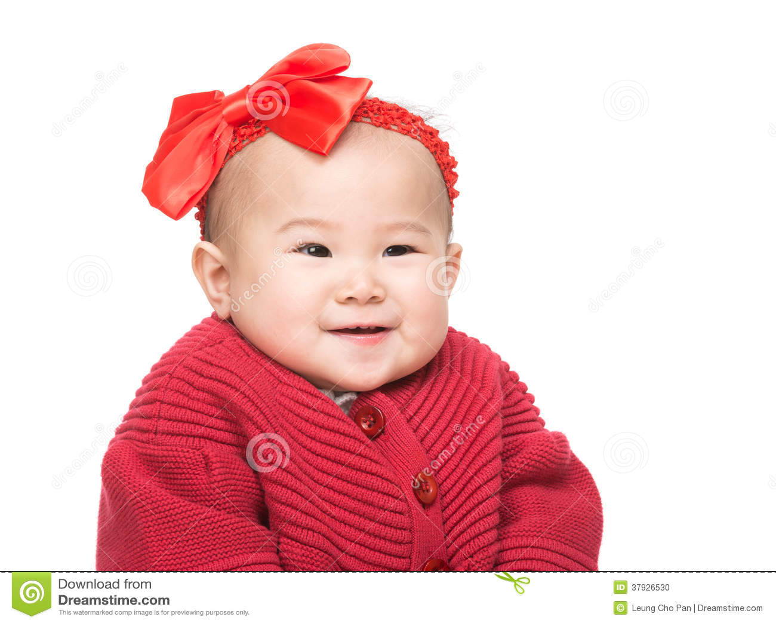 Улыбка младенца Азии