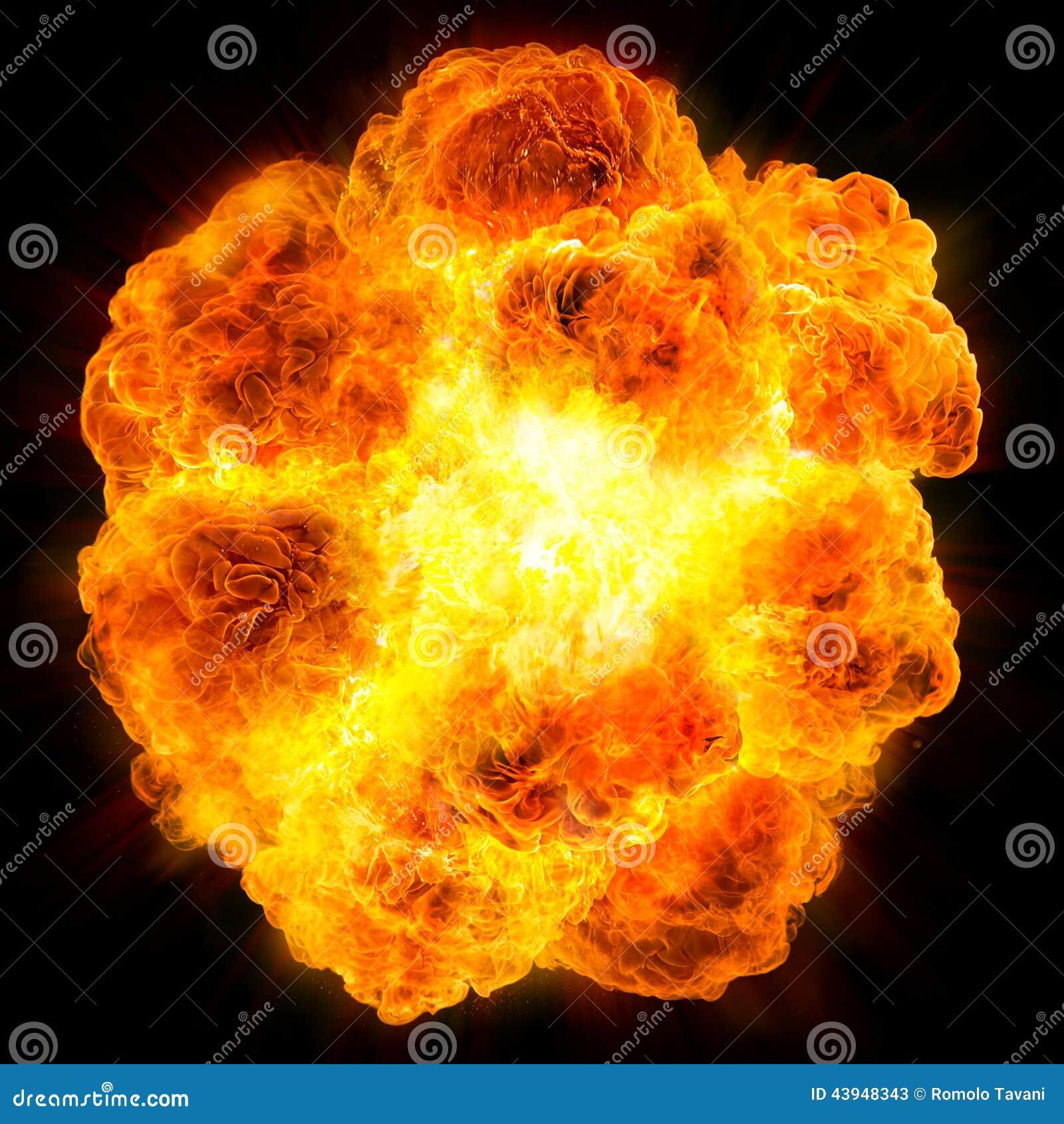 Файрбол: взрыв