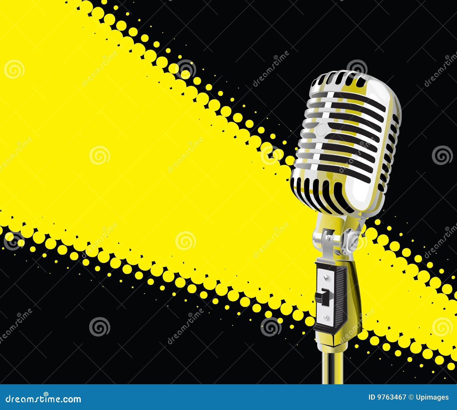 фара микрофона