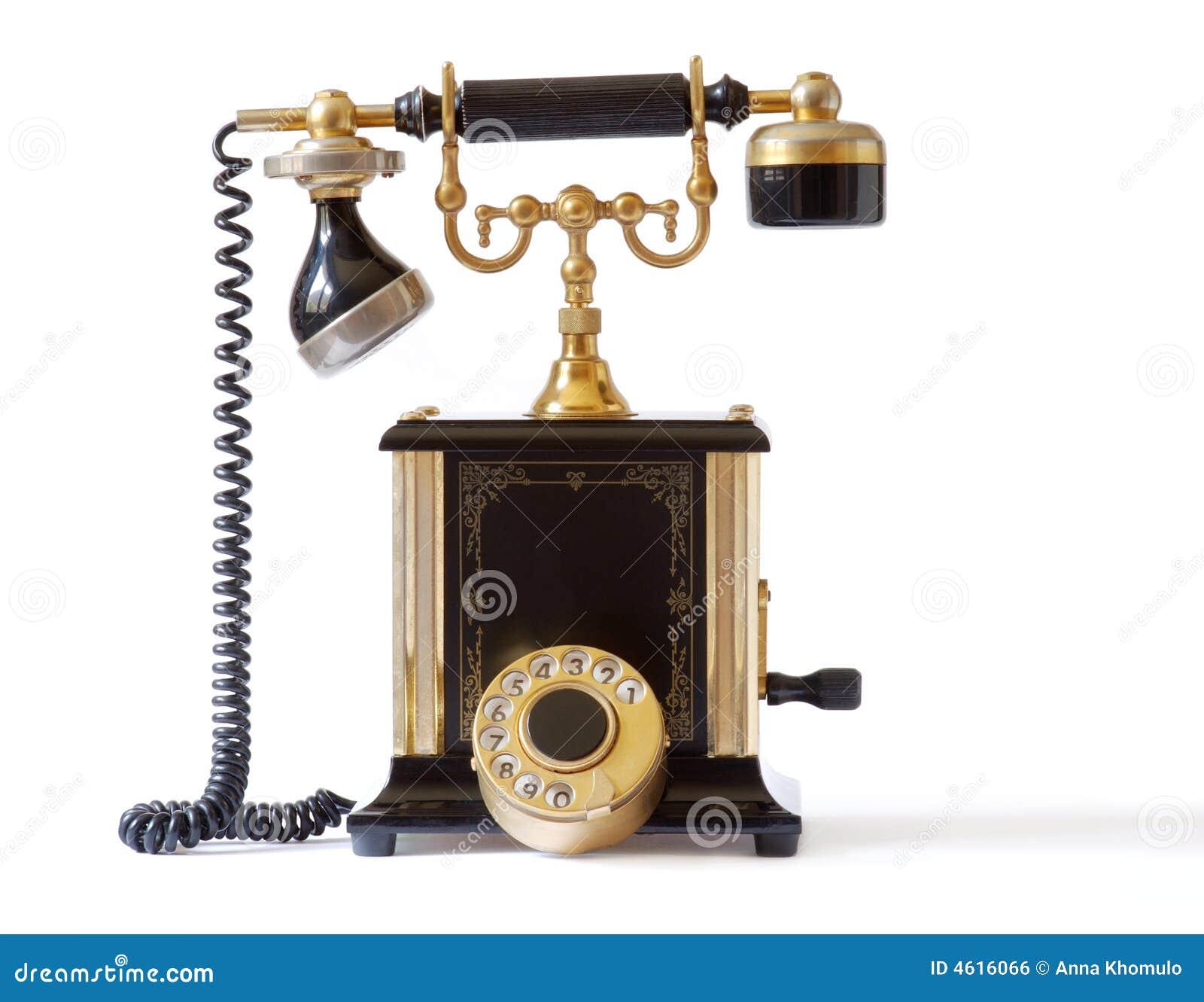 фасонируемый старый телефон