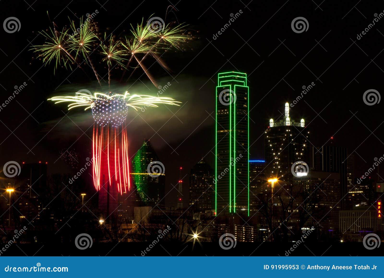 феиэрверки texas dallas
