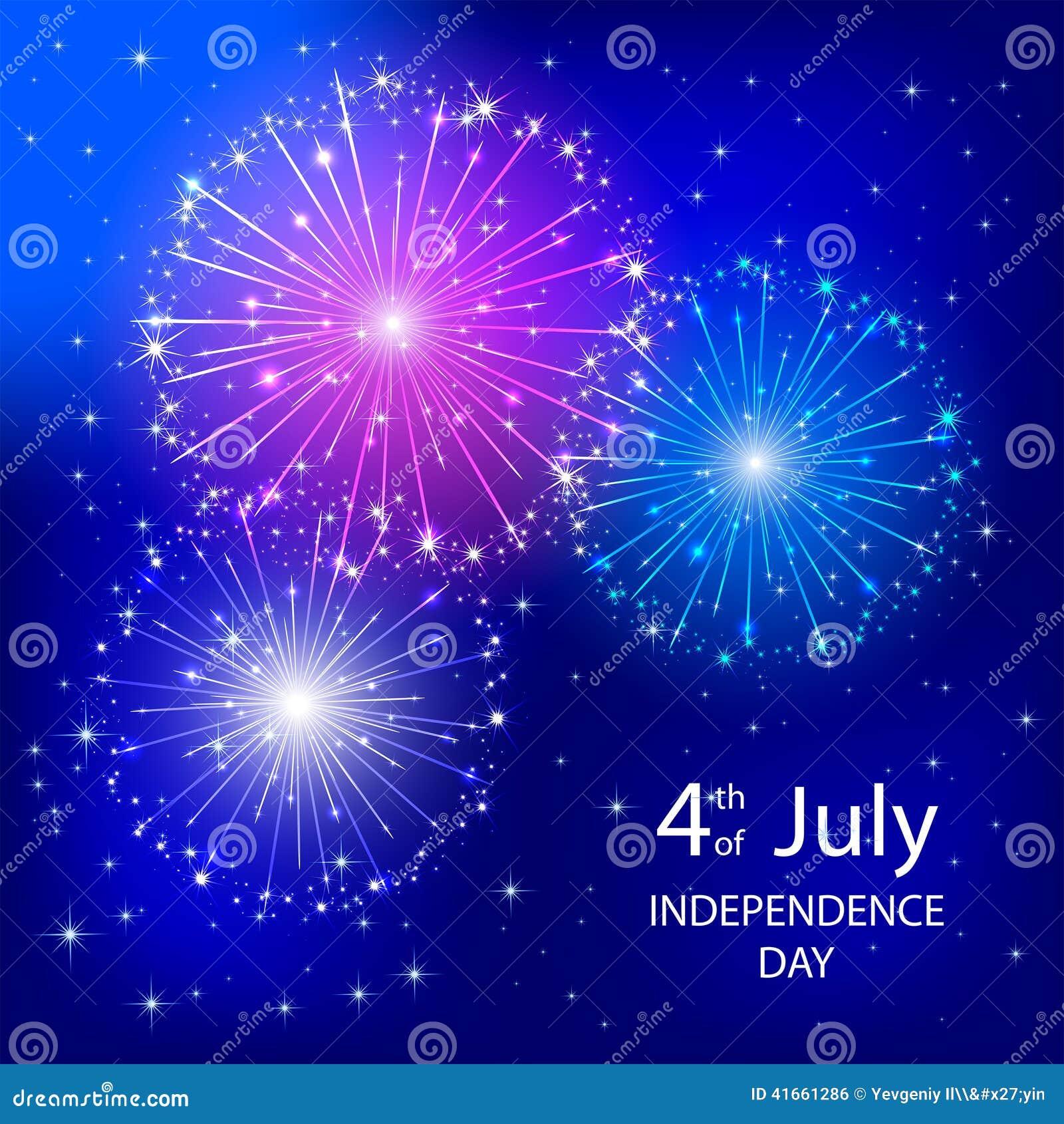 Фейерверк Дня независимости