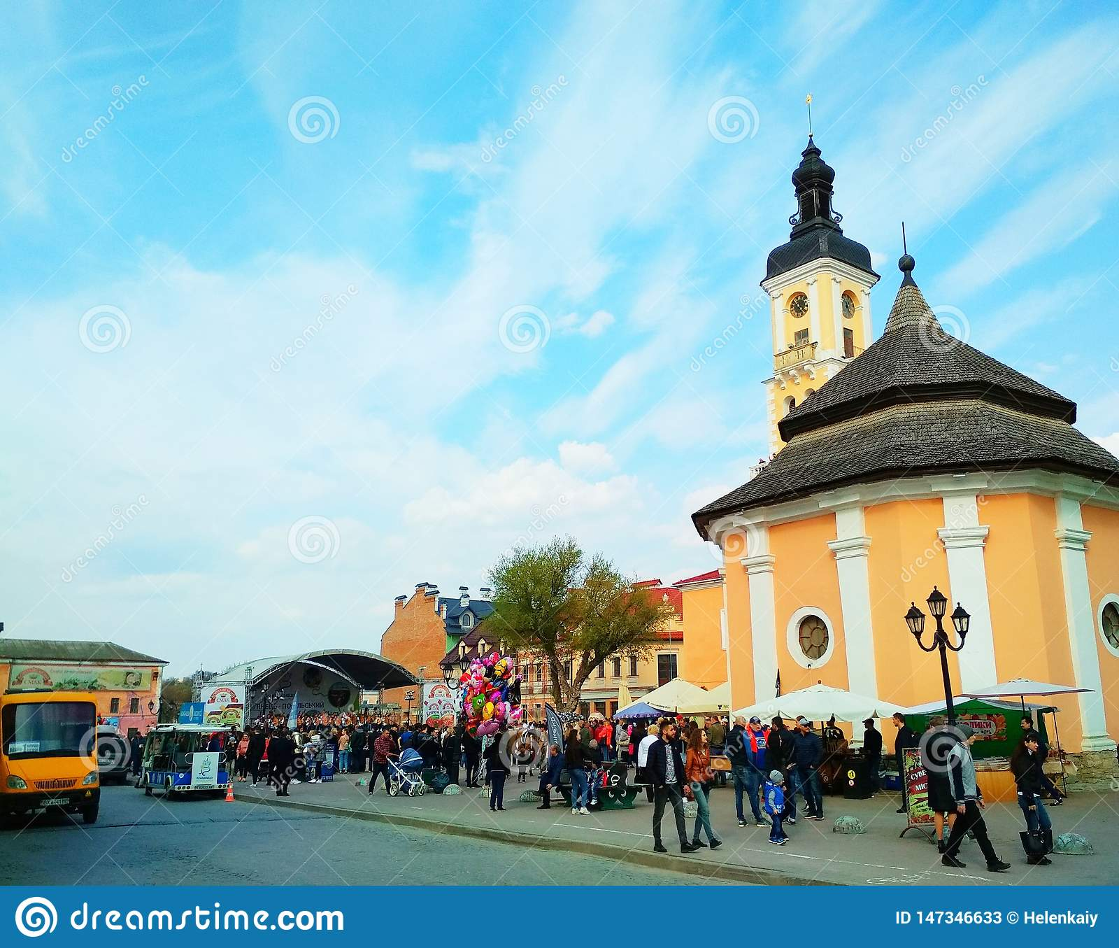 Фестиваль в Kamenets-Podolsky, Украине