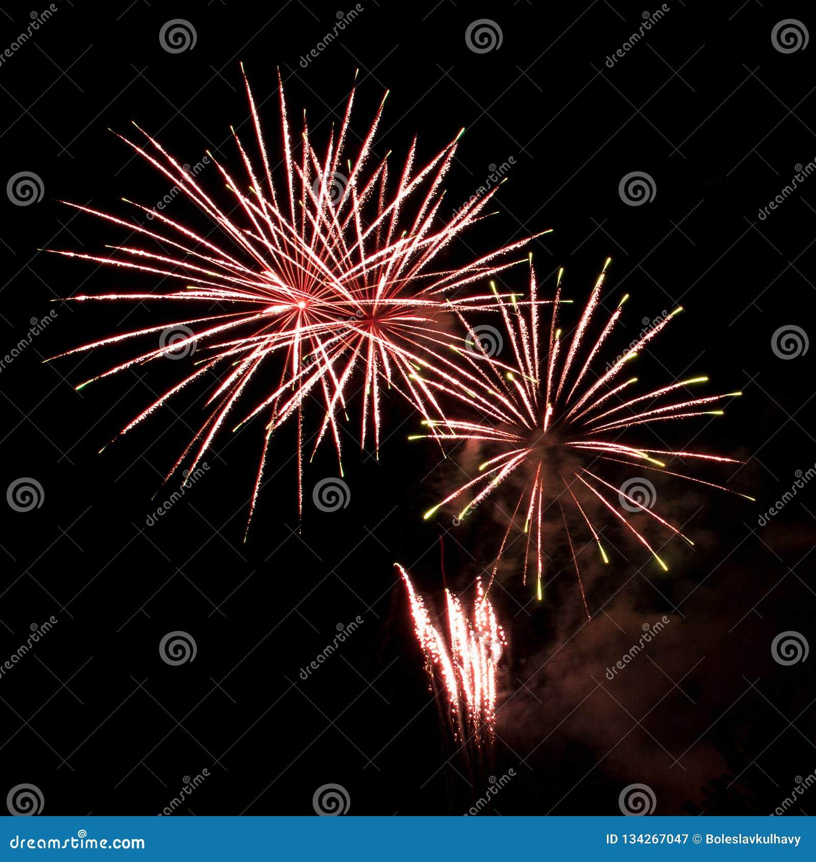 Фестиваль фейерверков Ignis Brunensis 2018
