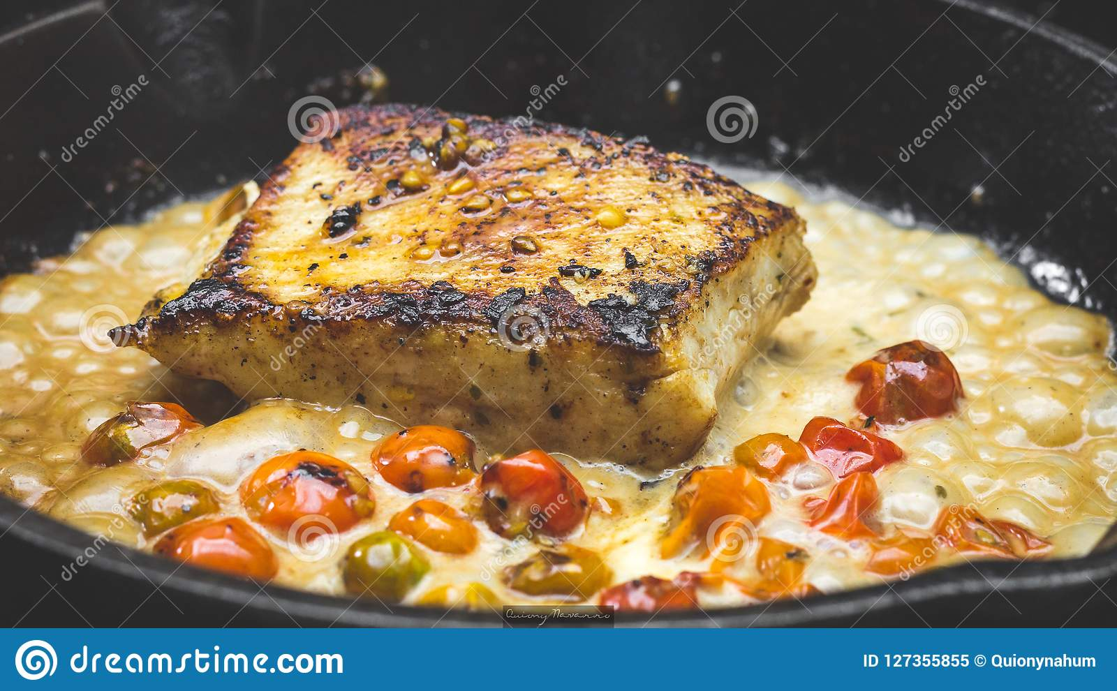 Филе рыб лотка жаркого
