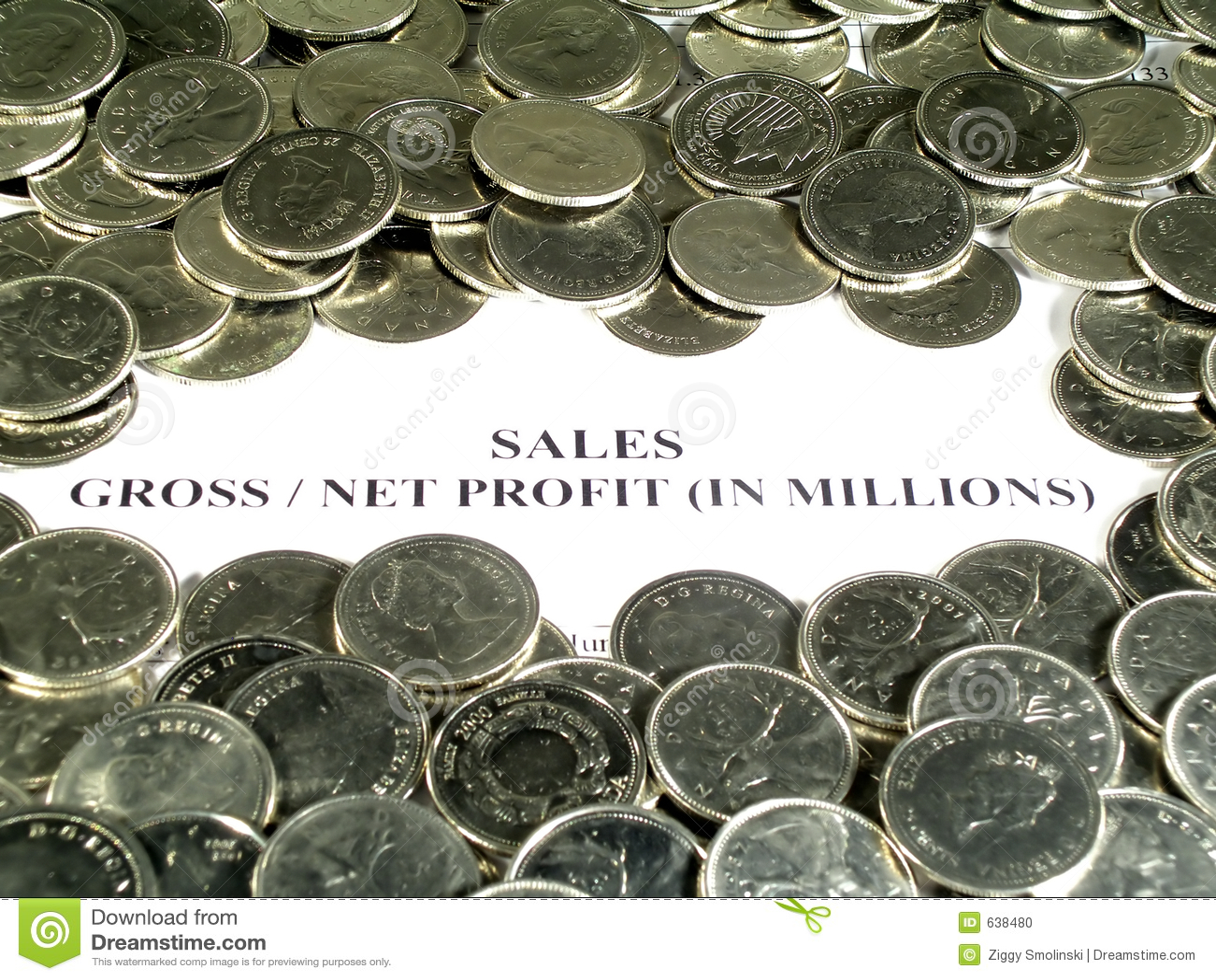Download финансовохозяйственный рапорт Стоковое Фото - изображение насчитывающей четверти, дело: 638480