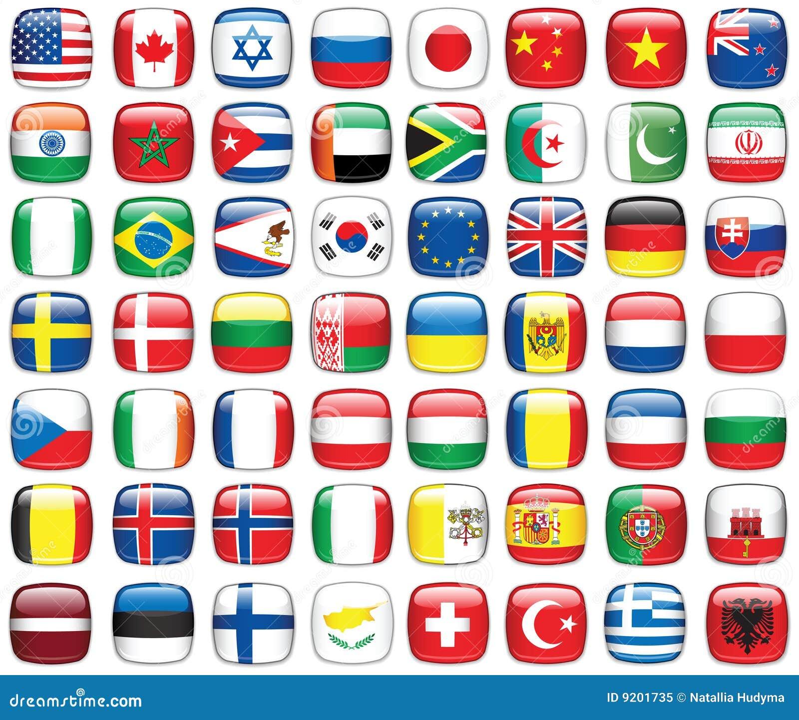 флаги установили мир