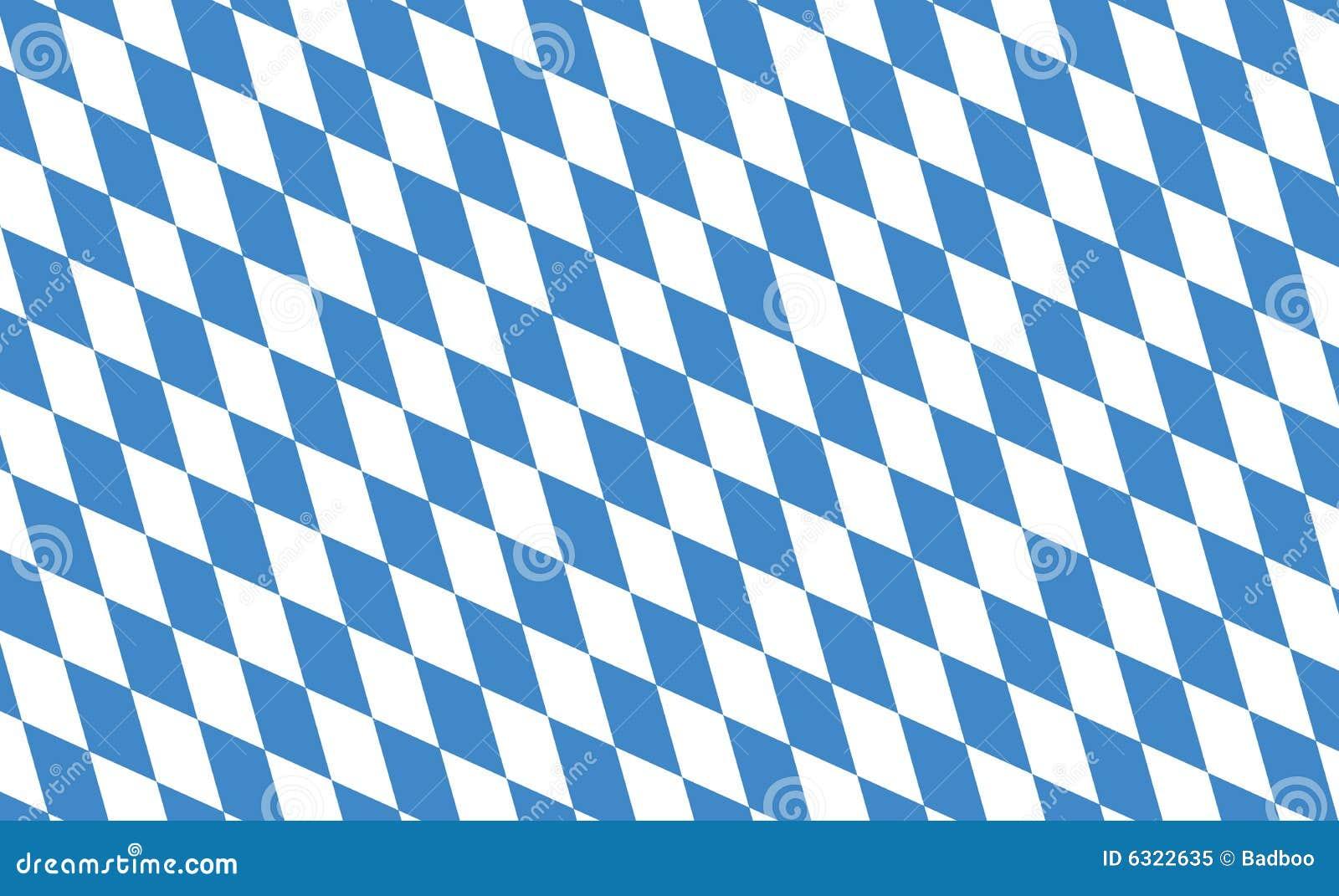 флаг Баварии Стоковое фото RF - изображение: 6322635  Баварский Флаг