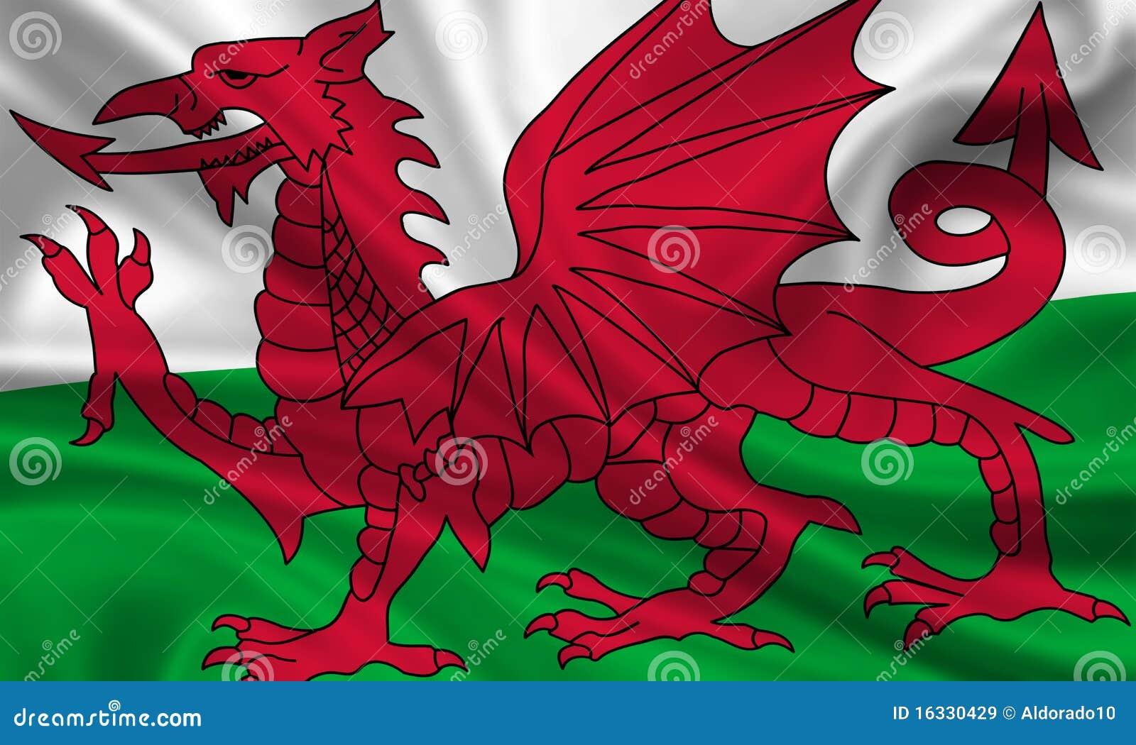 флаг вэльс