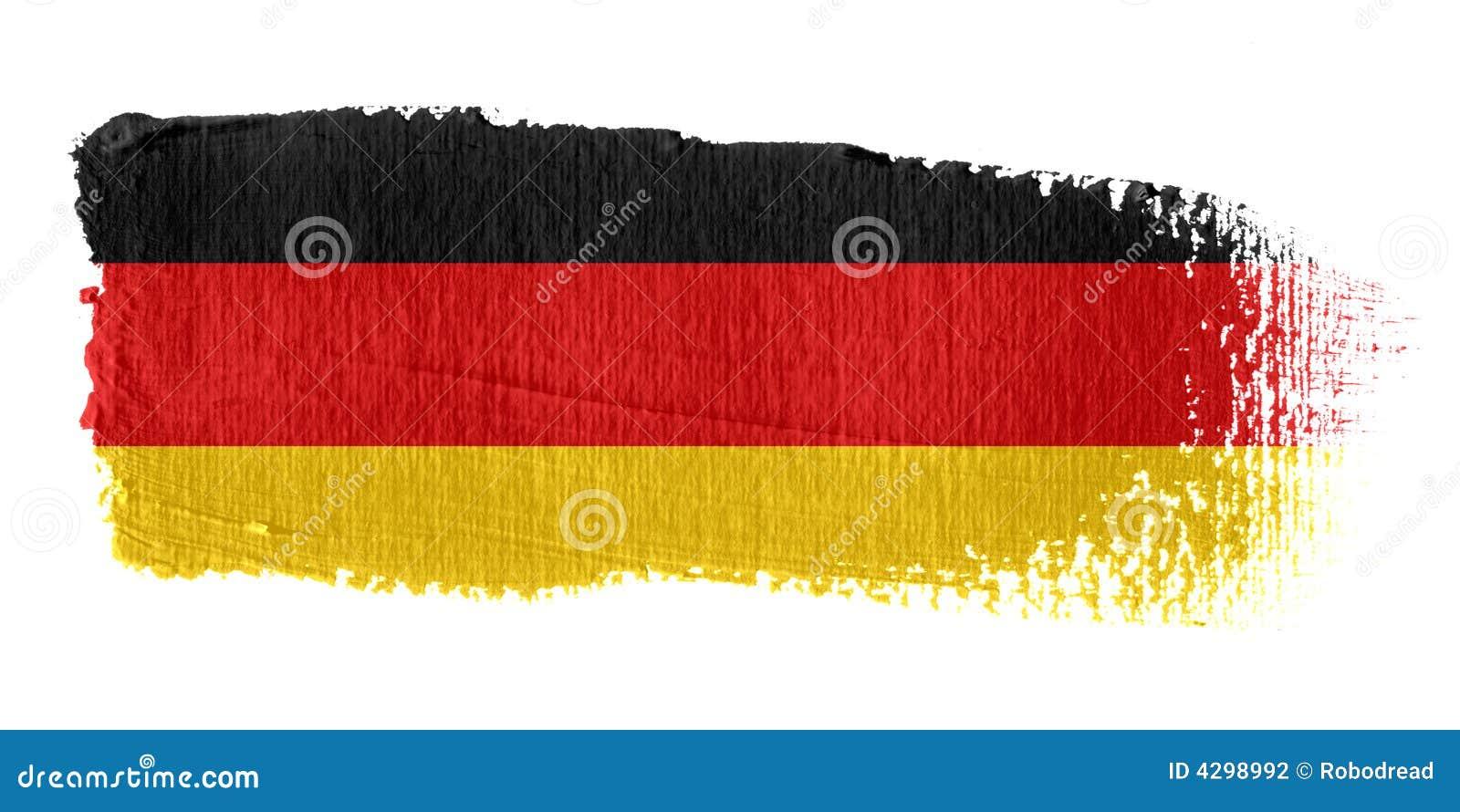 флаг Германия brushstroke