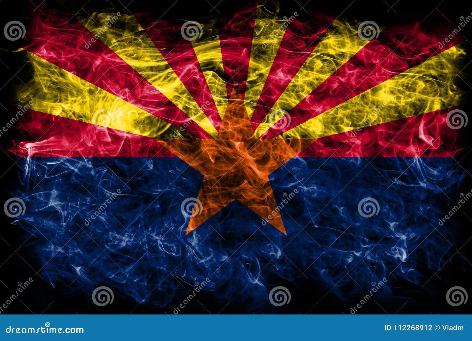 Флаг дыма положения Аризоны, Соединенные Штаты Америки