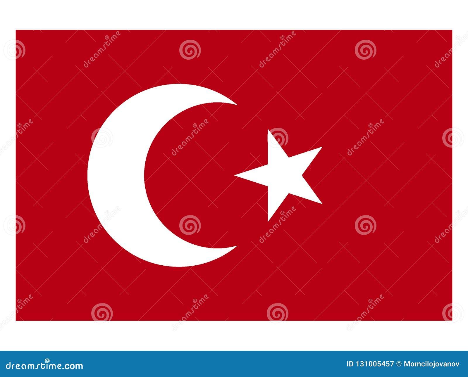 Флаг империи Ottoman