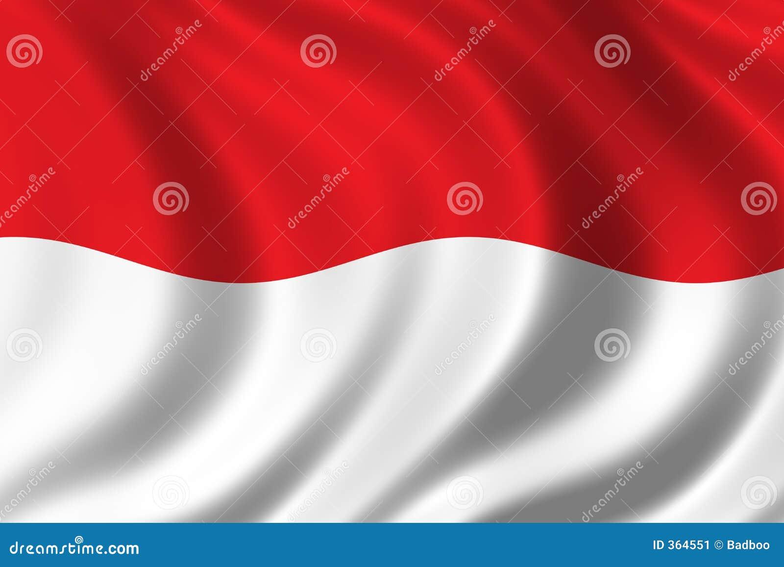 флаг Индонесия