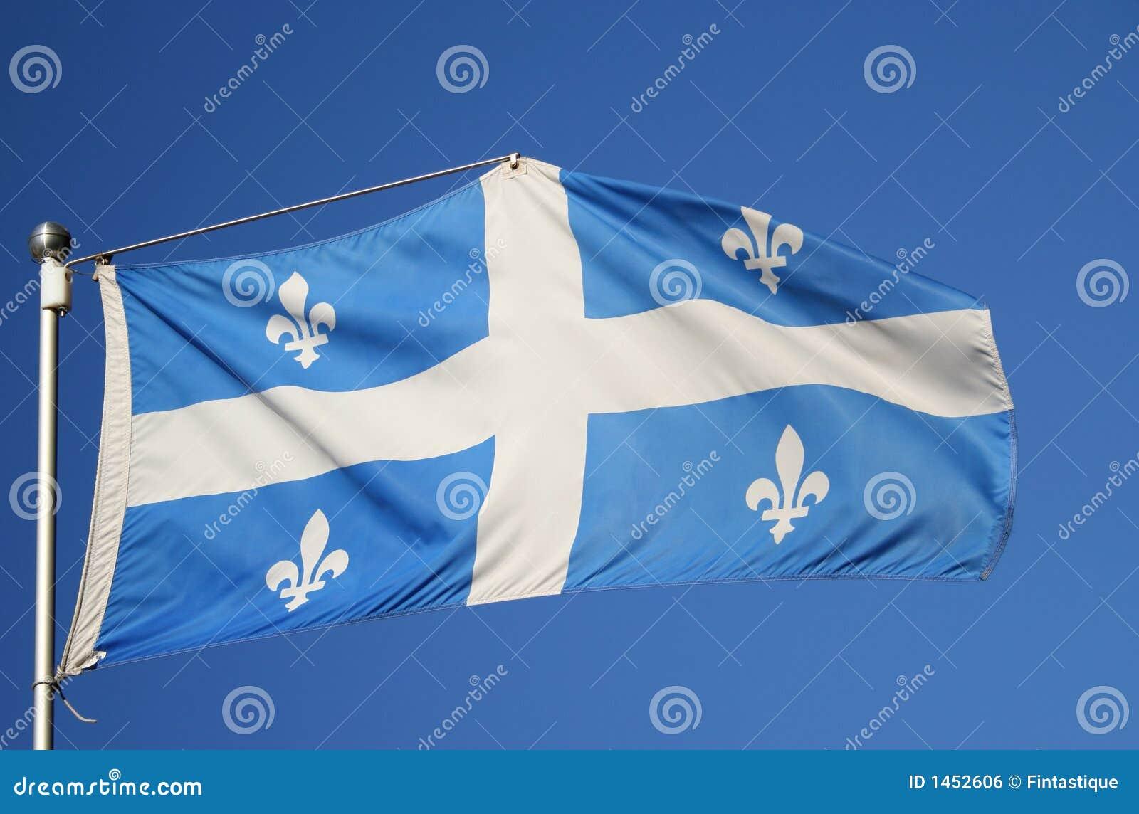 флаг квебека фото
